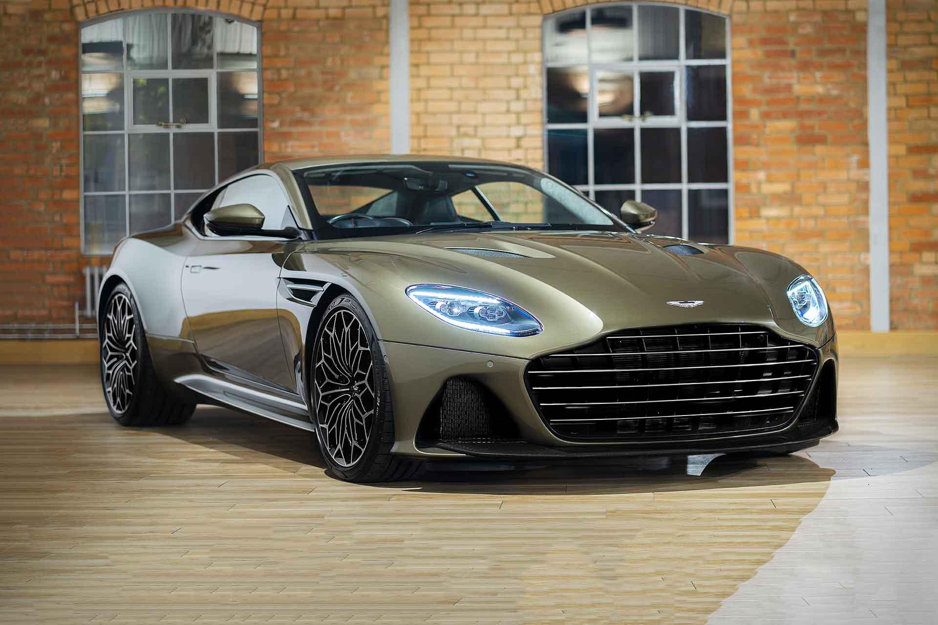Aston Martin On Her Majesty's Secret Service DBS Superleggera Coupe