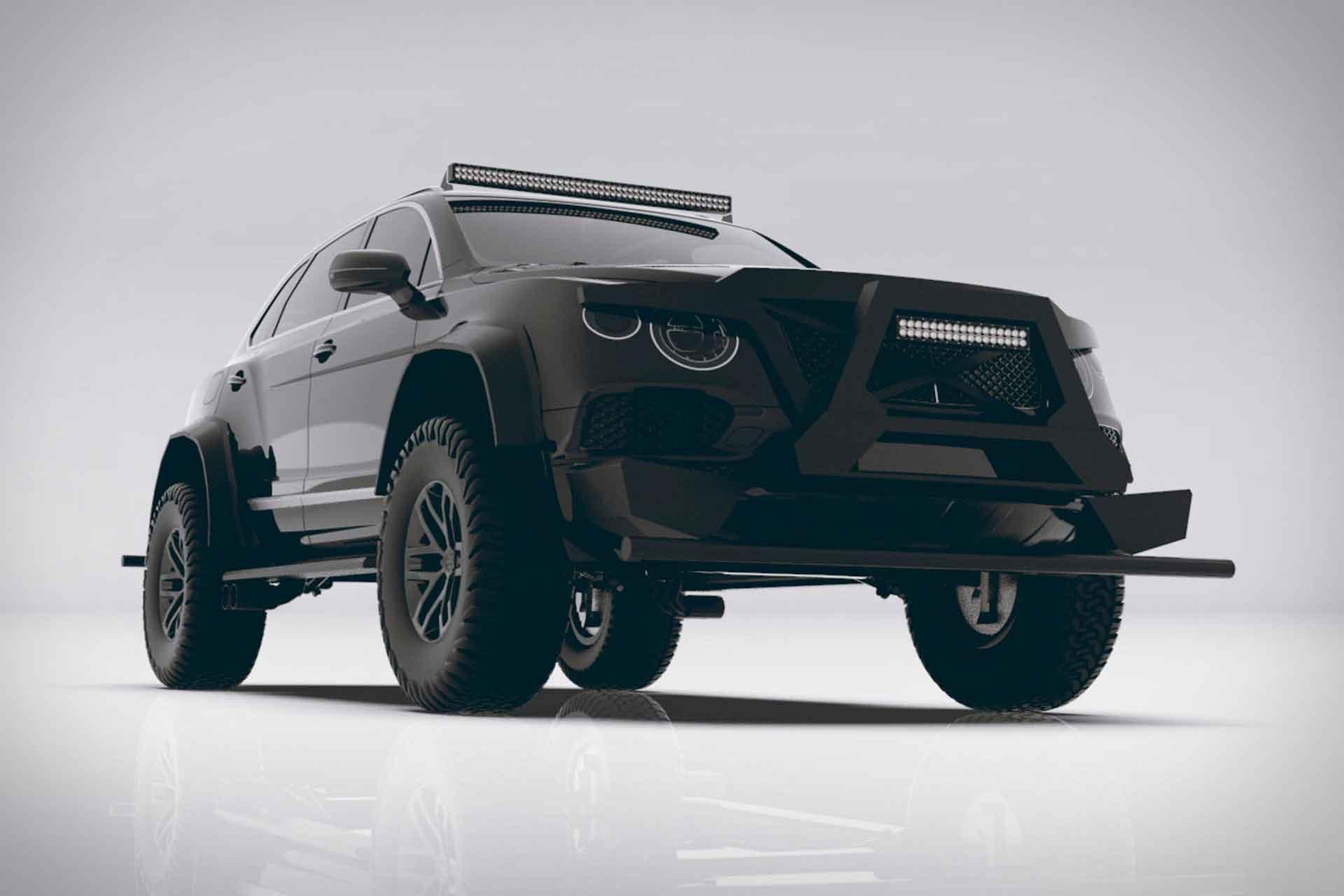 Bentley Bentayga Bengala SUV