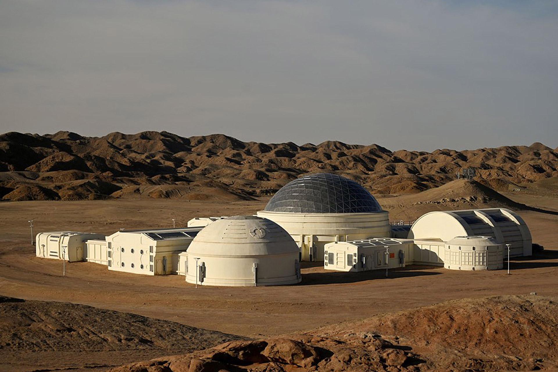 C-Space Mars Base 1