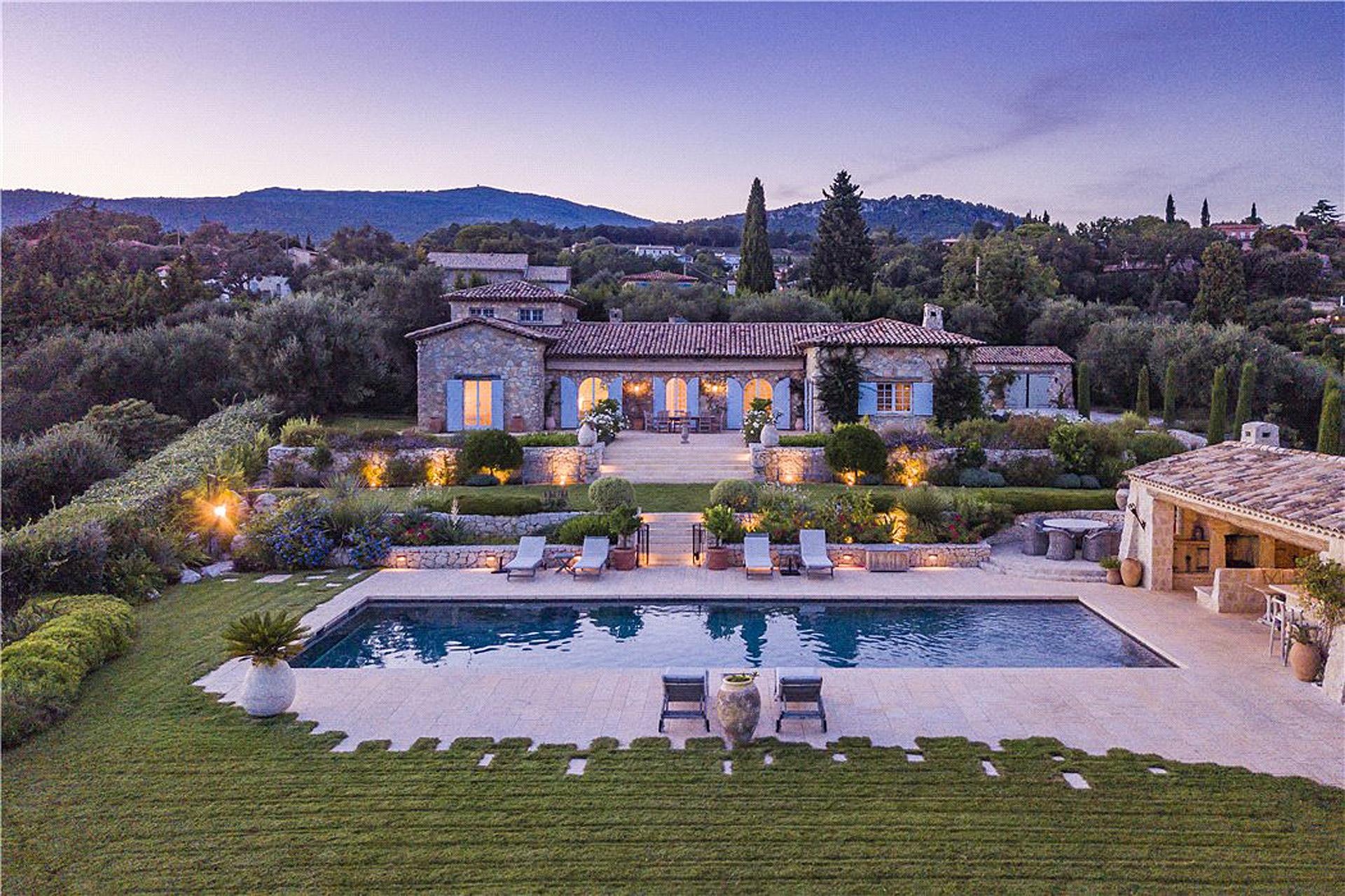 Chateauneuf de Grasse Villa