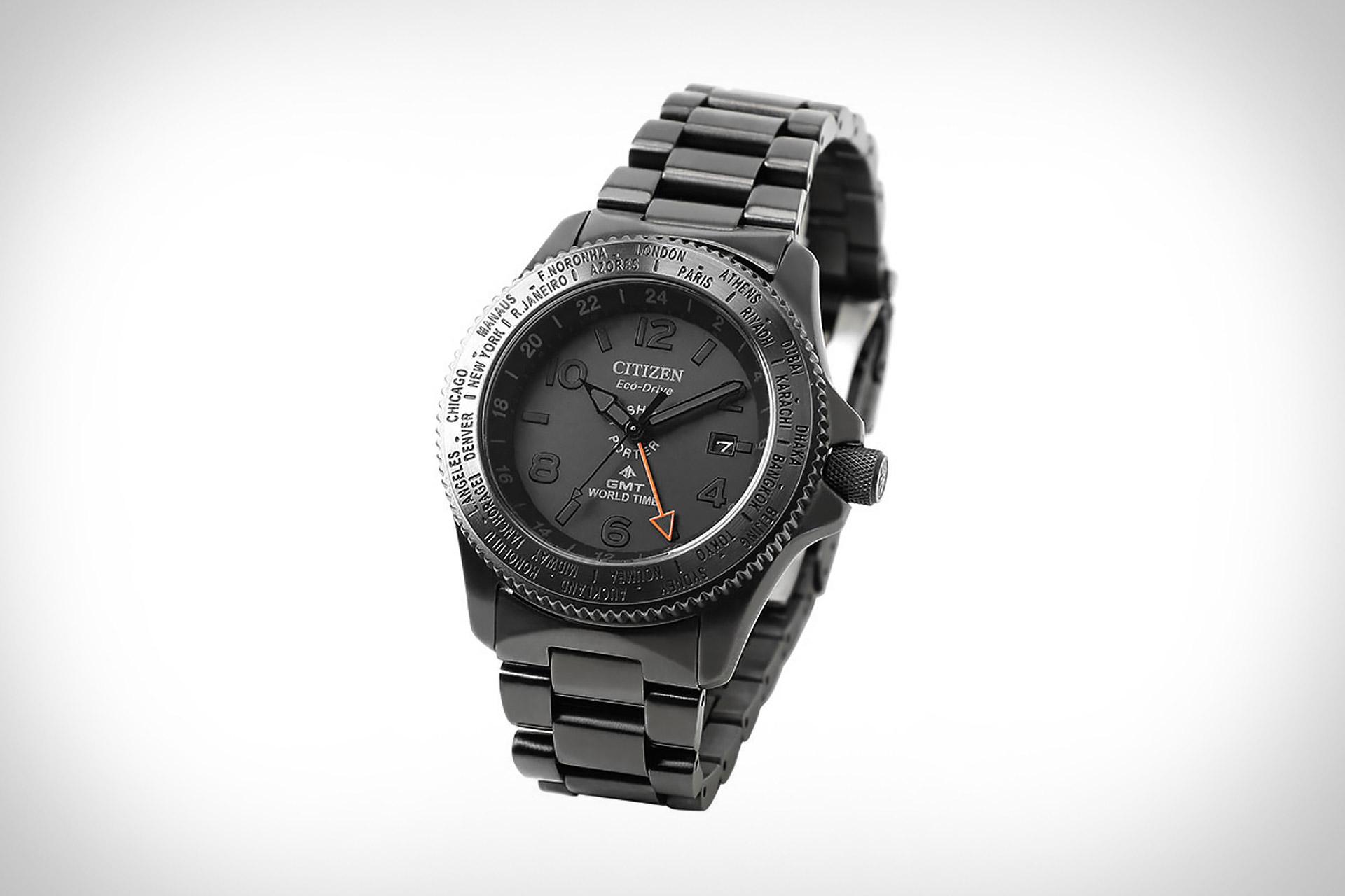 Citizen x Porter GMT World Time Watch