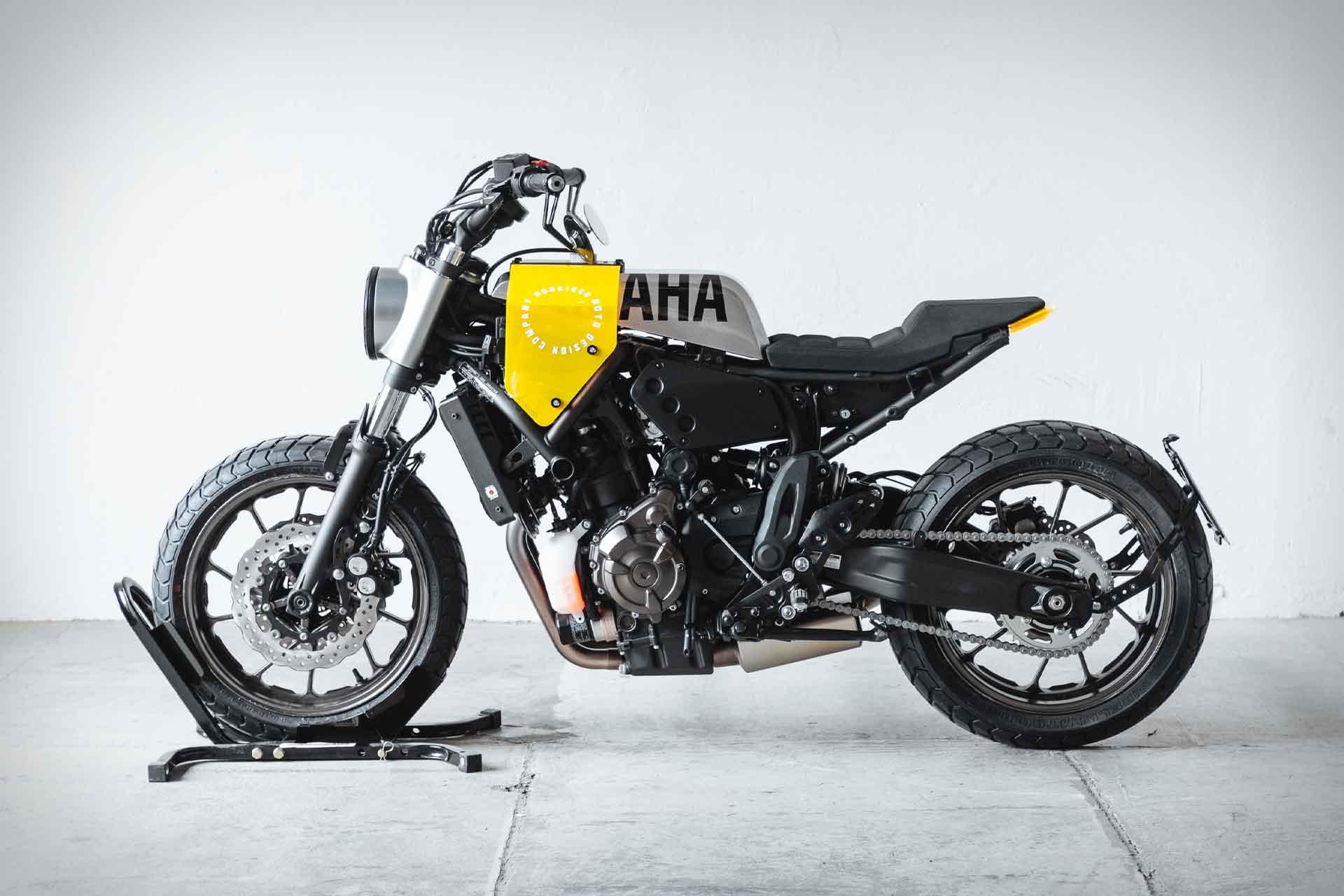 Hookie Co. Yard Built Yamaha XSR700 Motorcycle