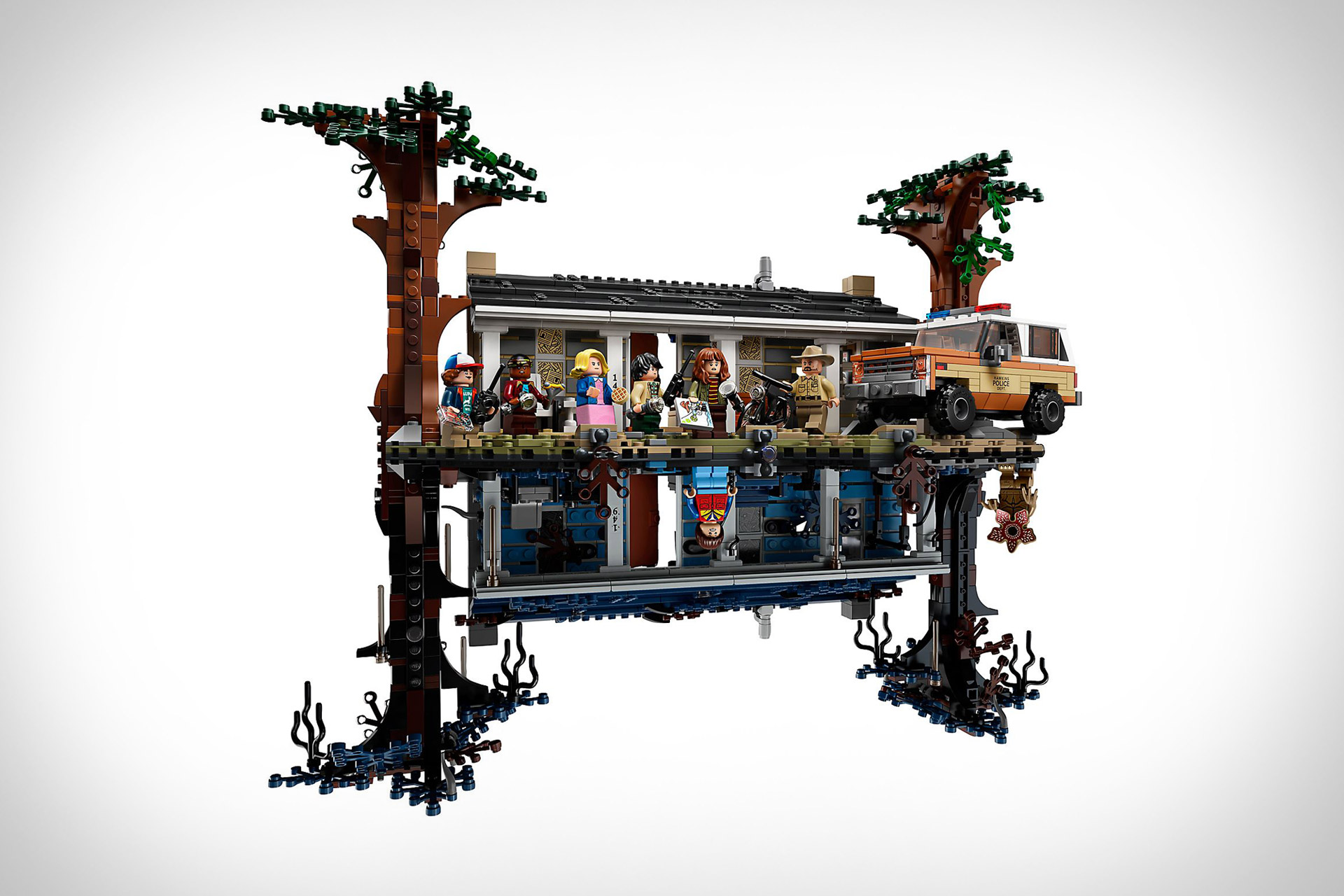 Lego Stranger Things The Upside Down Building Set