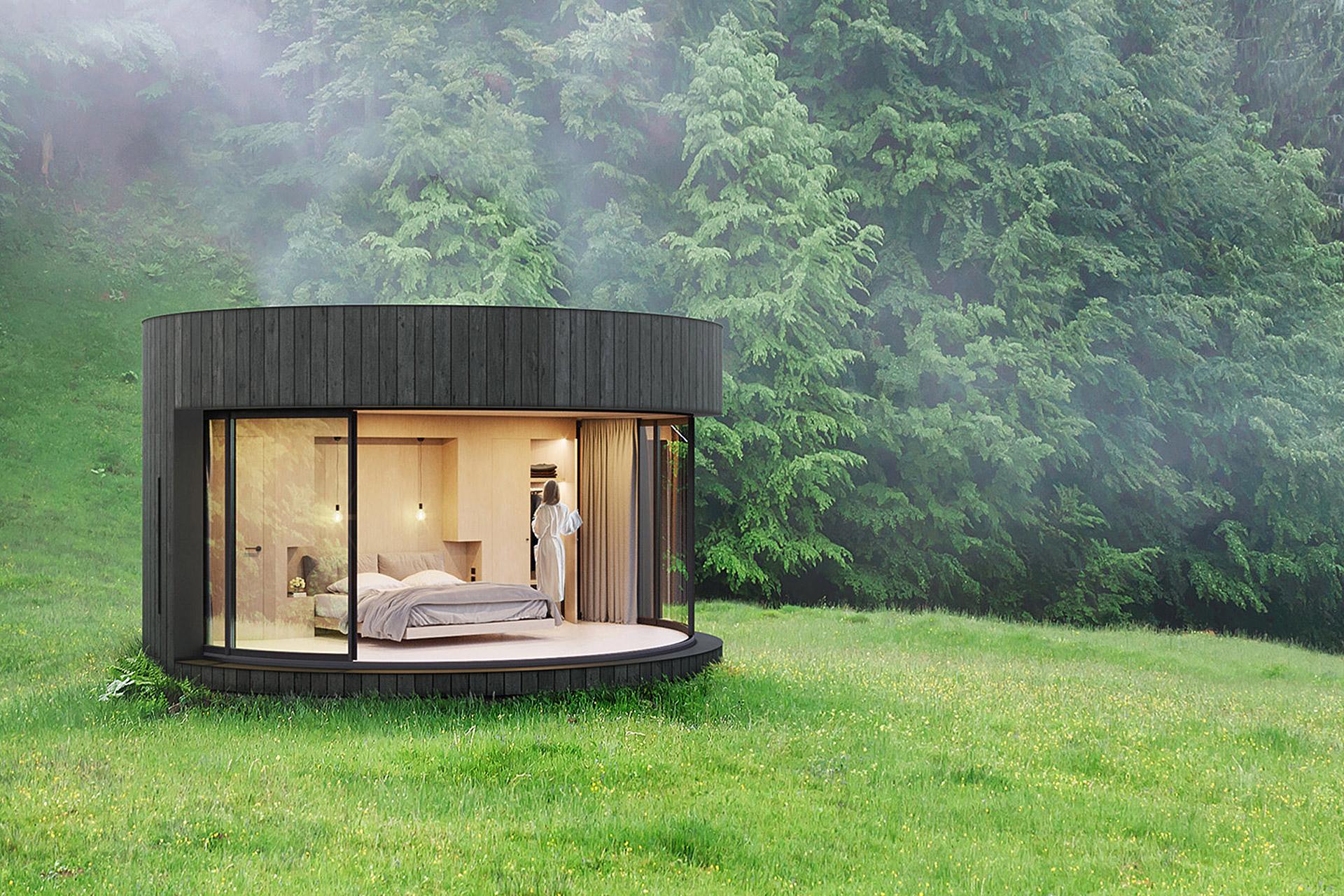 Lumipod Prefab Cabin