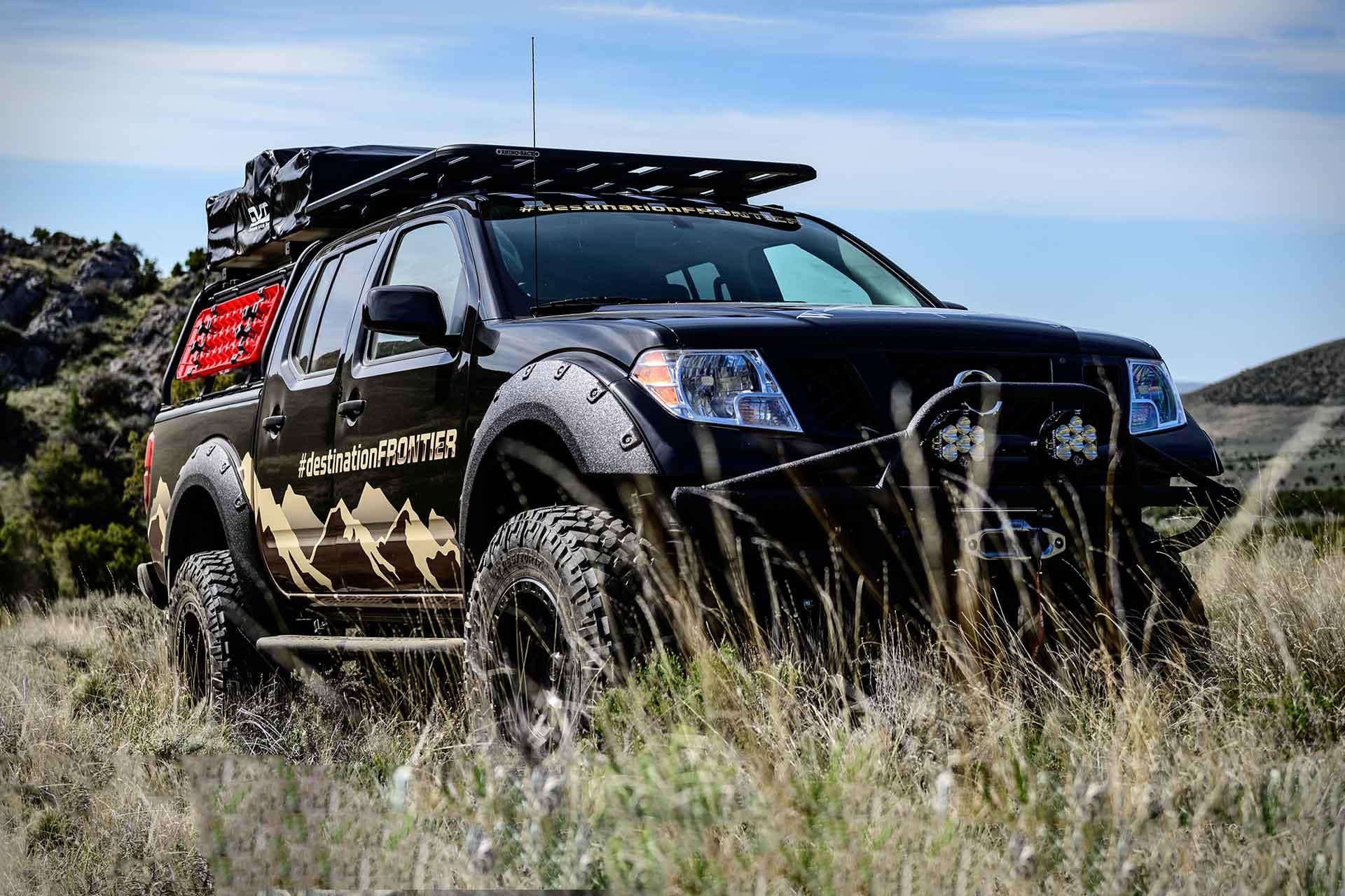 Nissan Destination Frontier Truck Concept Uncrate