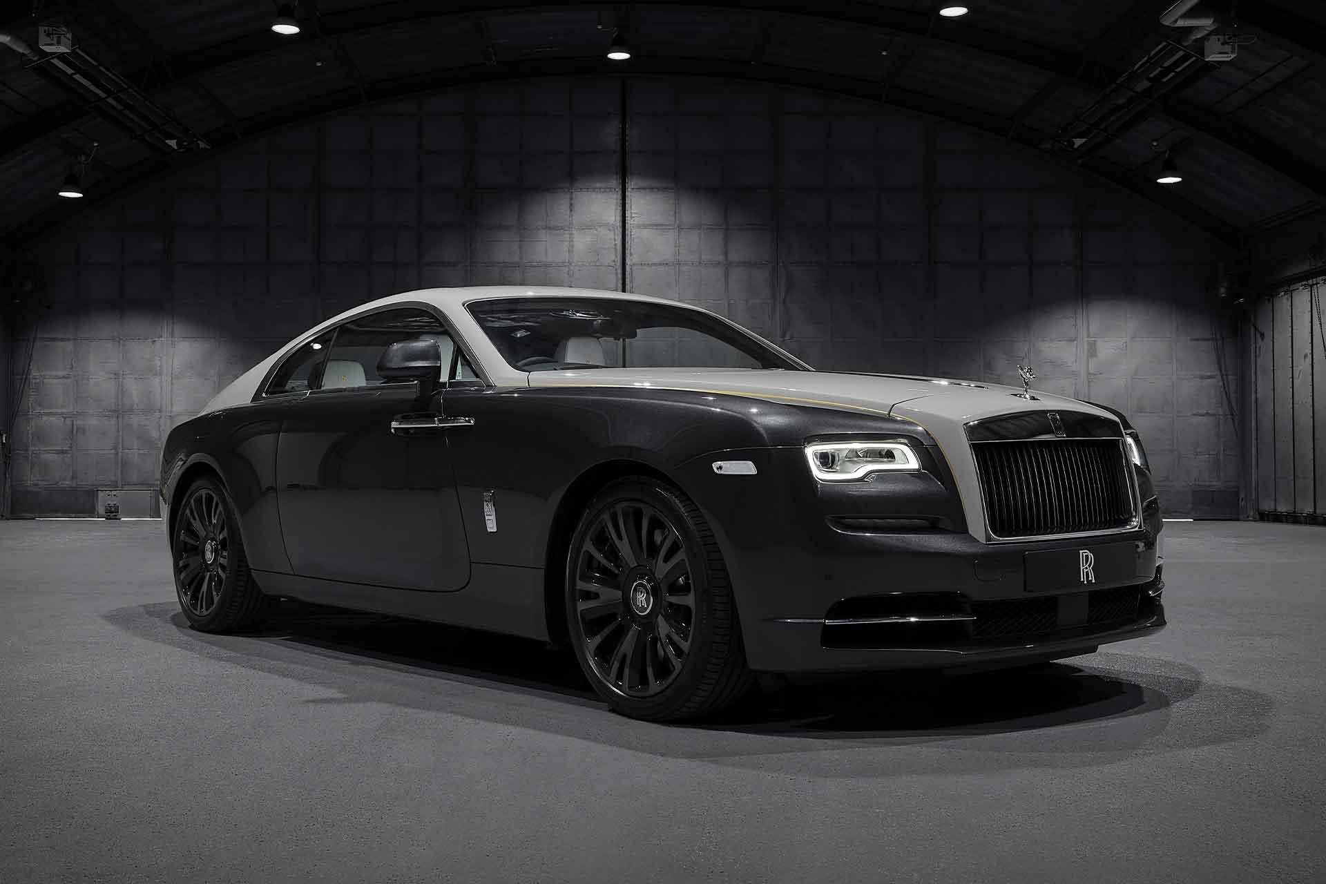 Rolls-Royce Wraith Eagle VIII Coupe