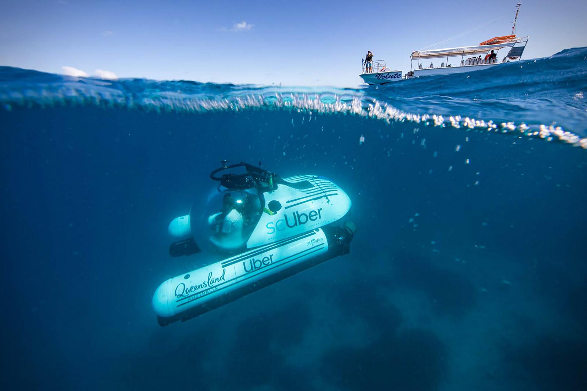 ScUber Ridesharing Submarine