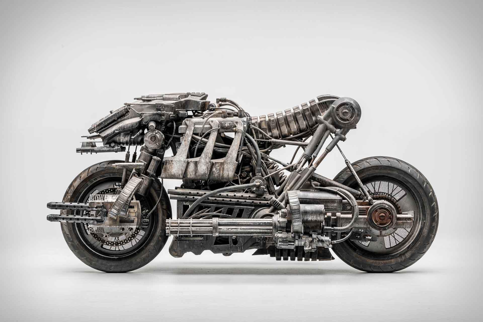 2017 Skynet Moto-Terminator Ducati Motorcycle