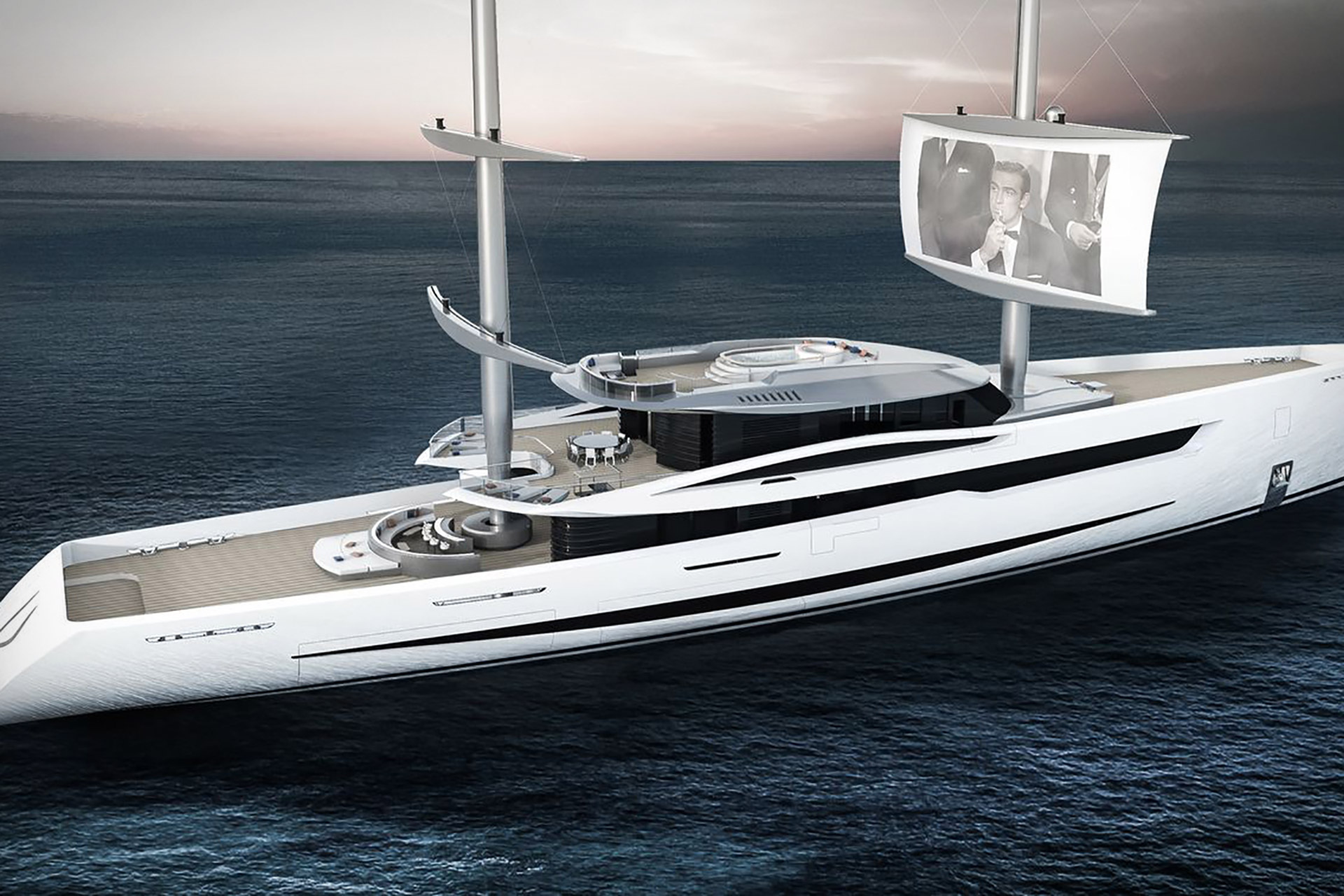 Vela Concept Yacht