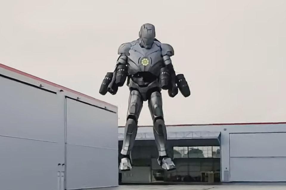 Adam Savage's Iron Man Suit