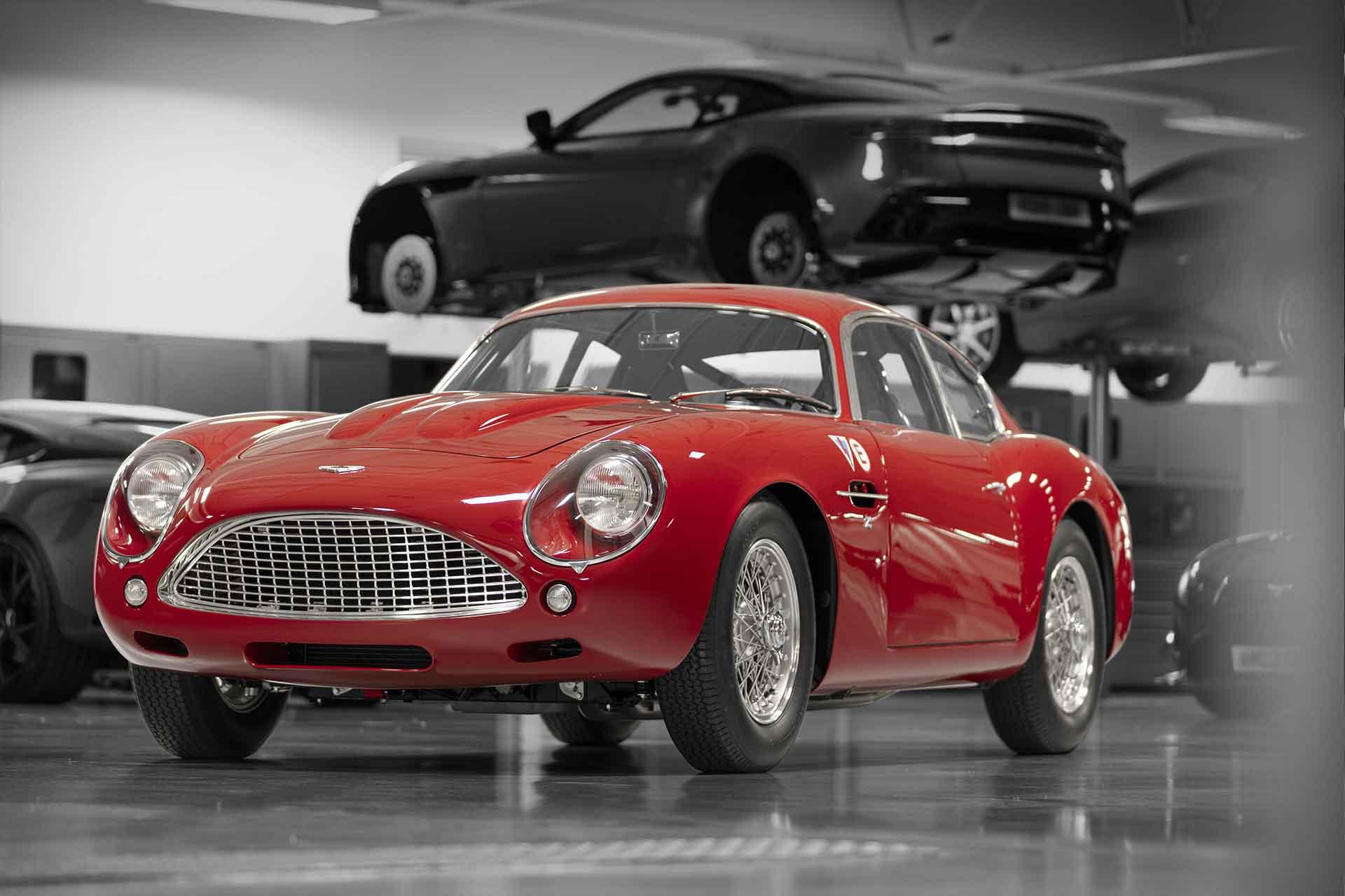 Aston Martin DB4 GT Zagato Continuation Coupe