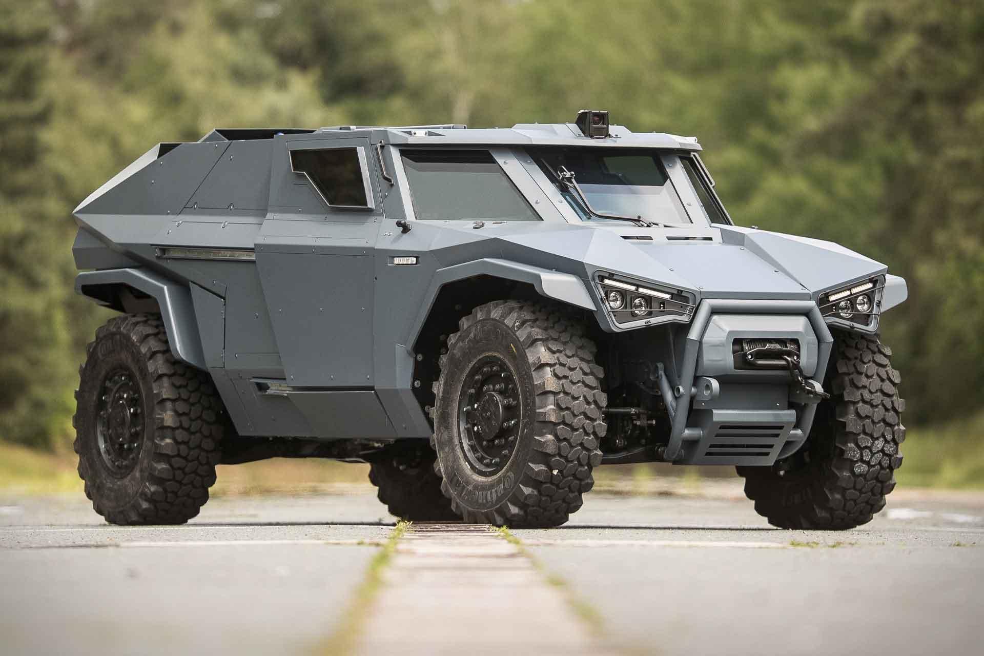 Arquus Scarabee Armored Vehicle | Uncrate