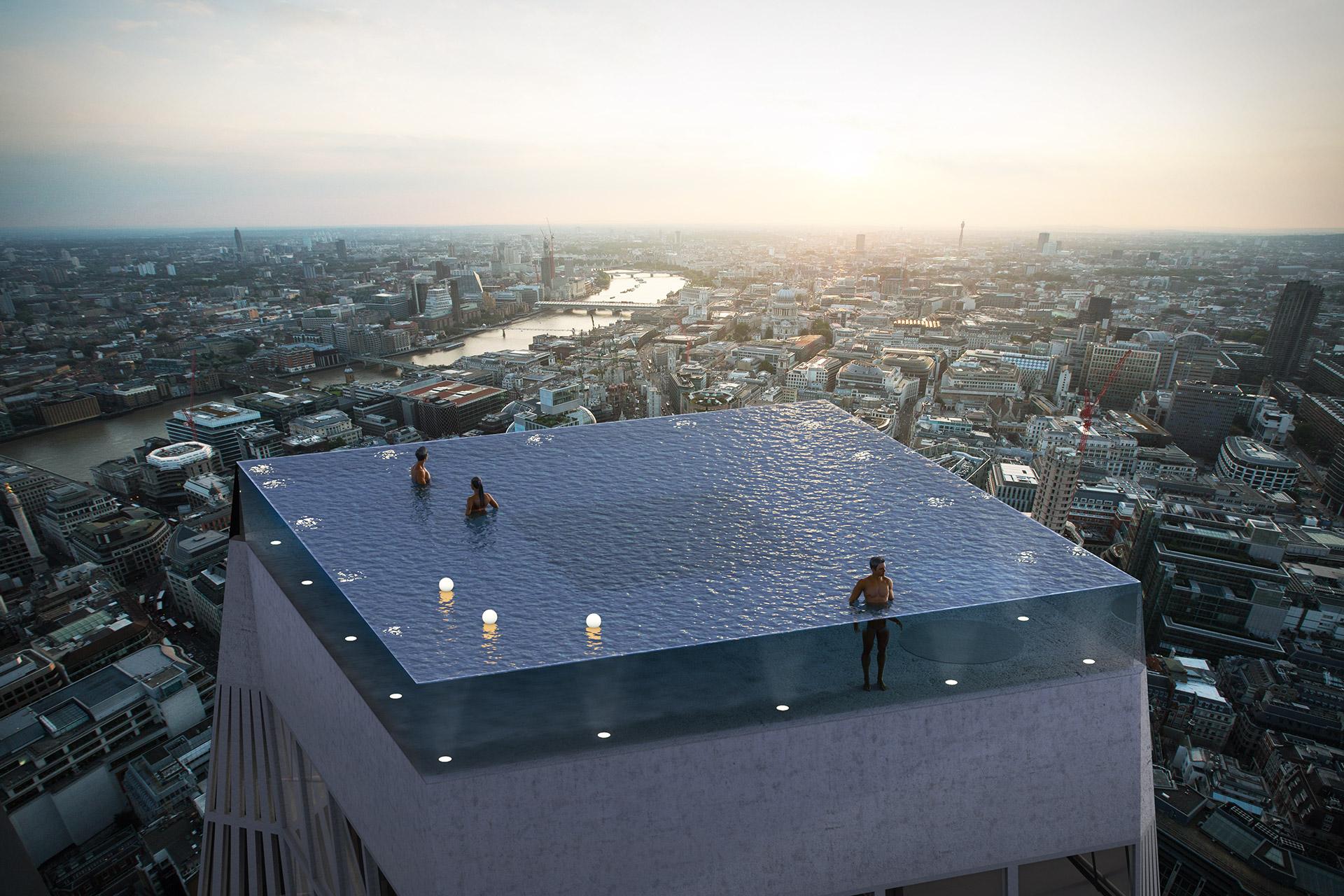 Infinity London 360-Degree Rooftop Pool