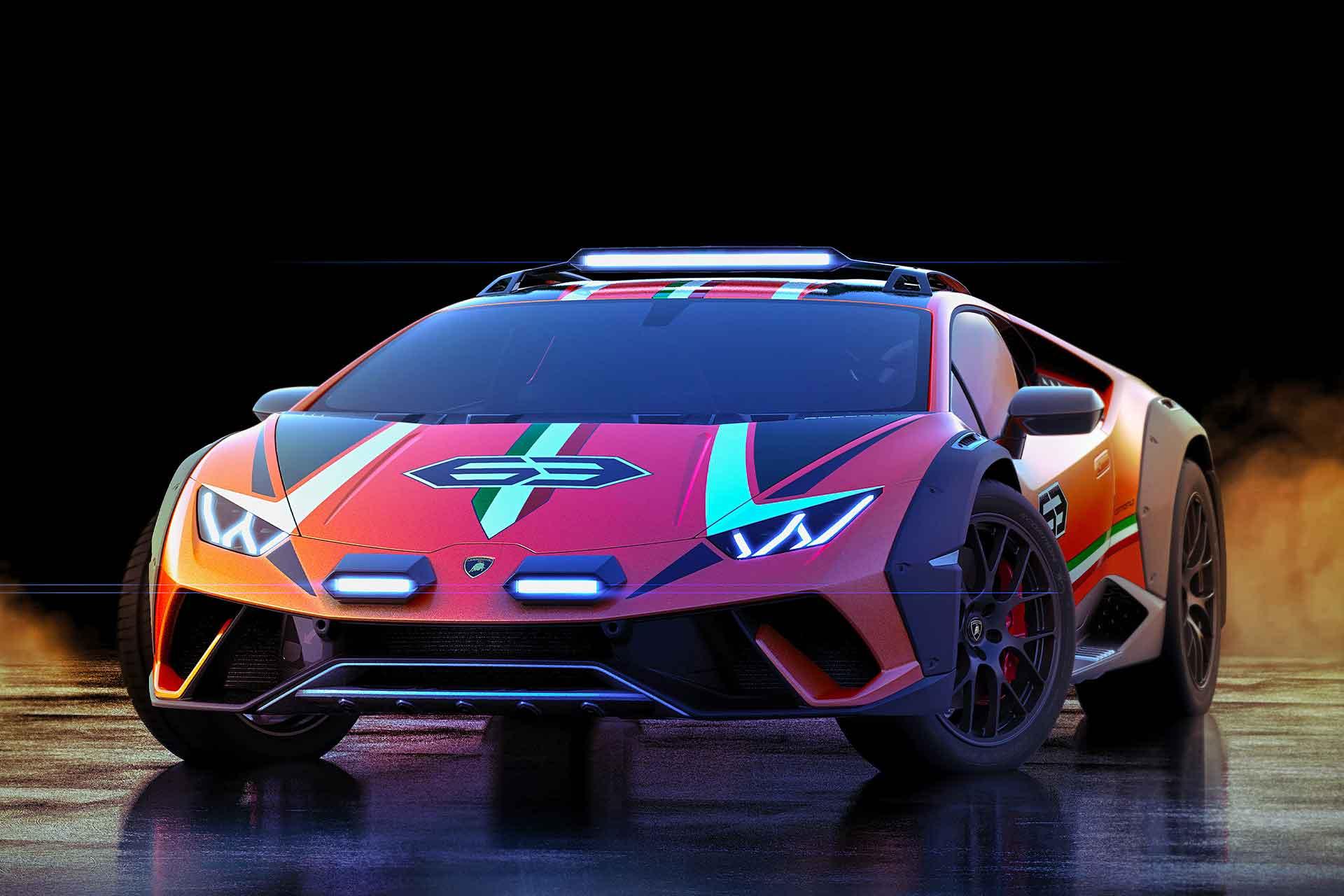 Lamborghini Huracán Sterrato Off-Road Concept