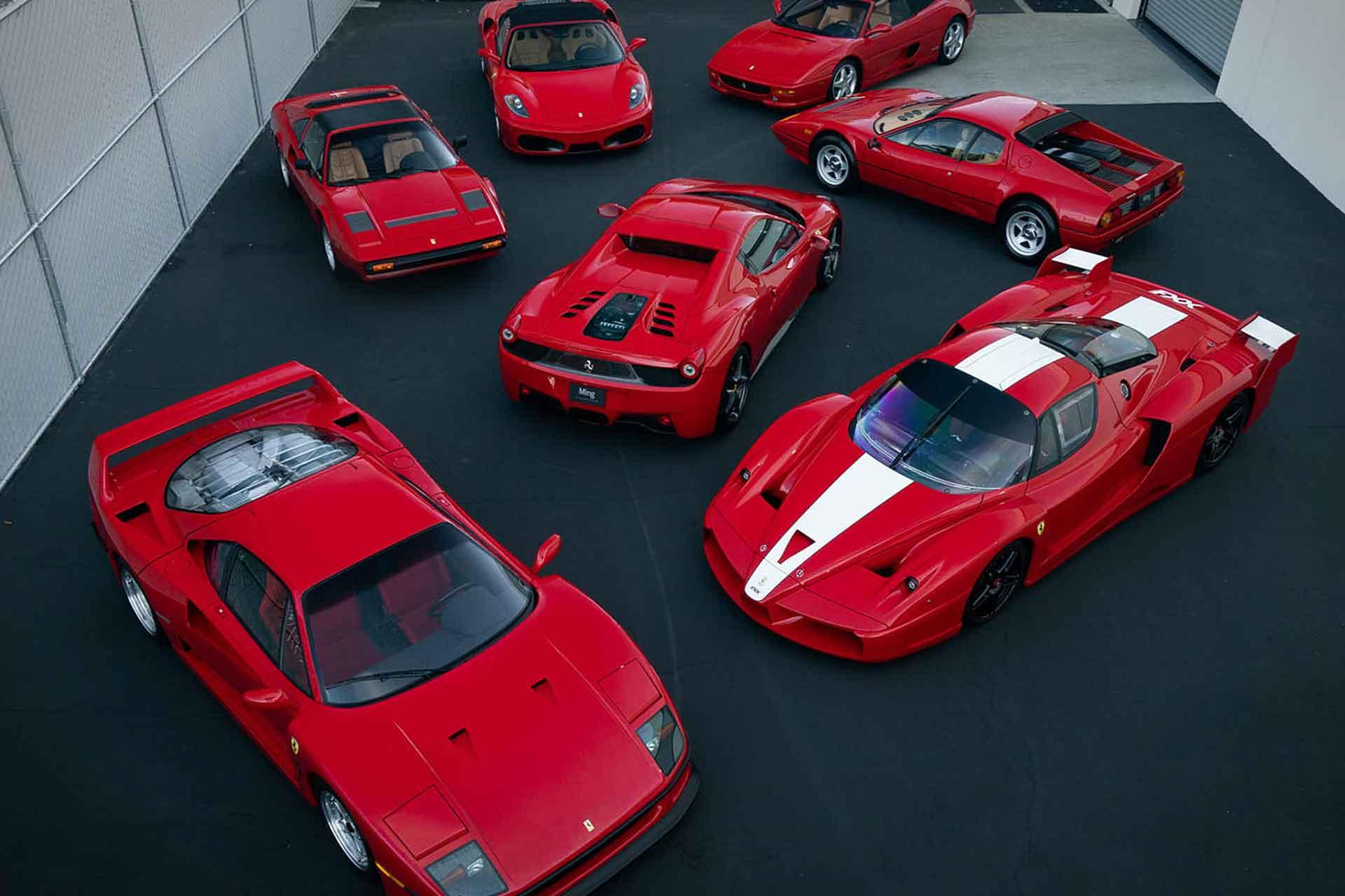 Ming Ferrari Collection