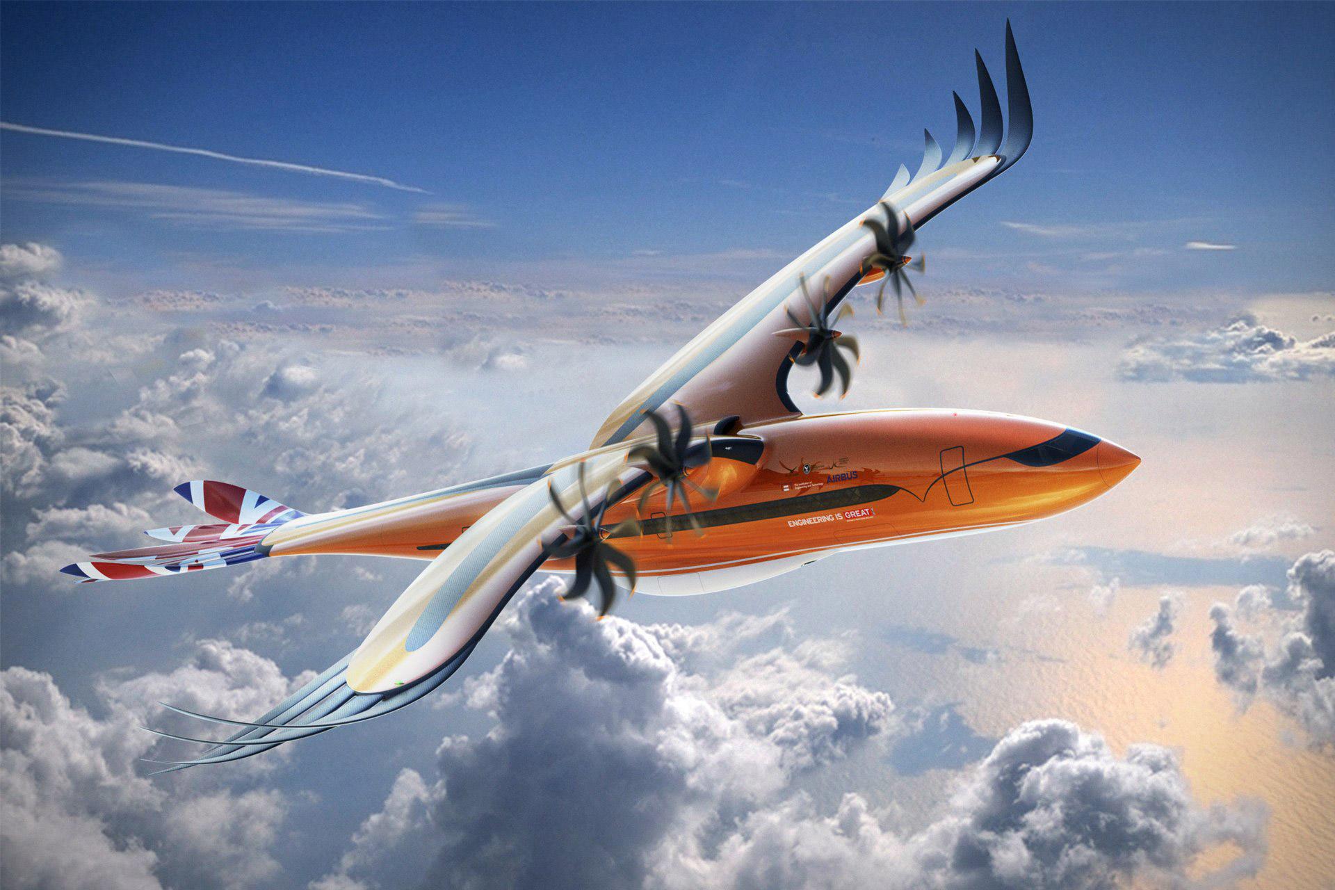 Airbus Bird of Prey Aircraft Concept