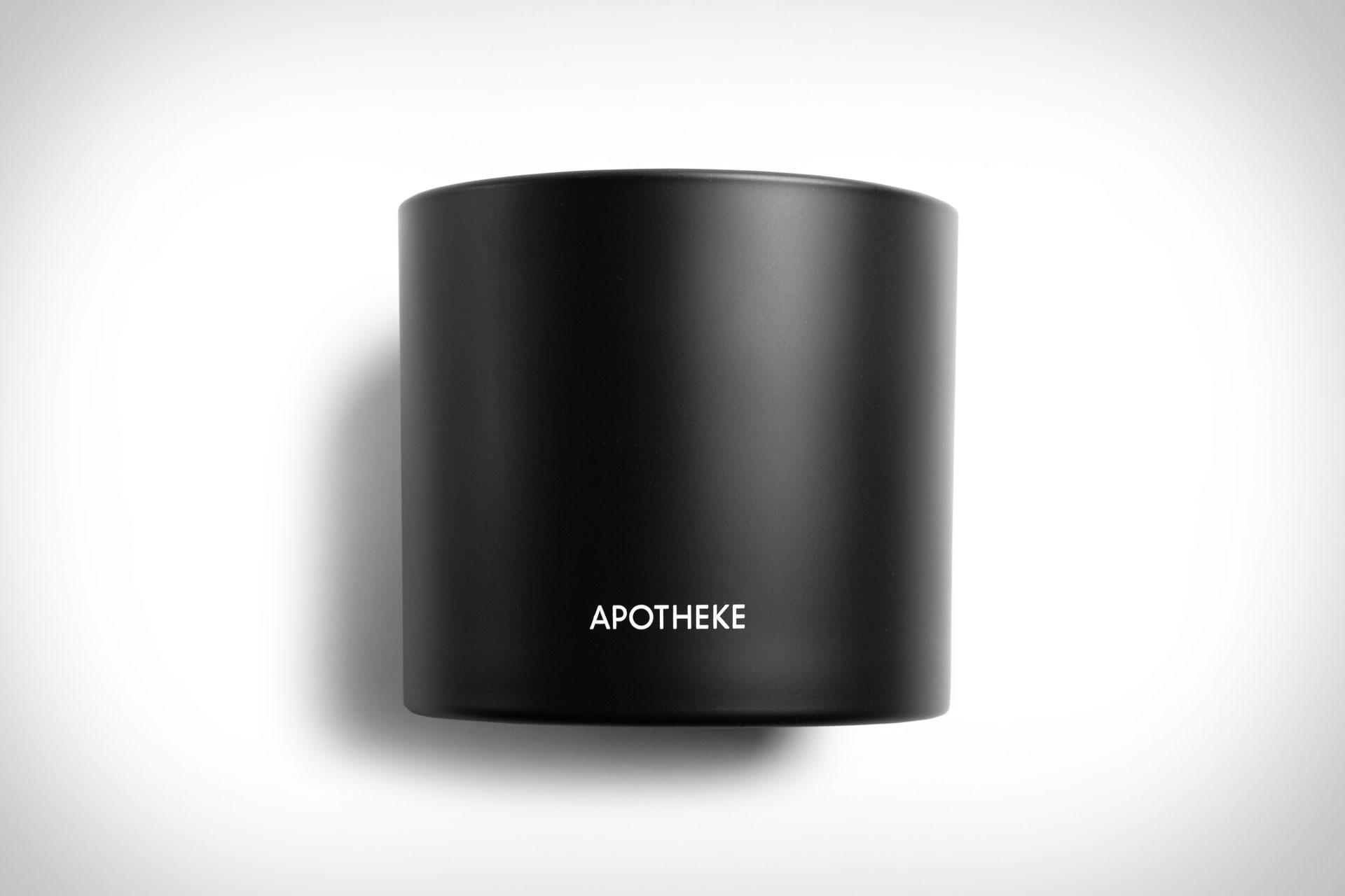 Apotheke Charcoal Candle