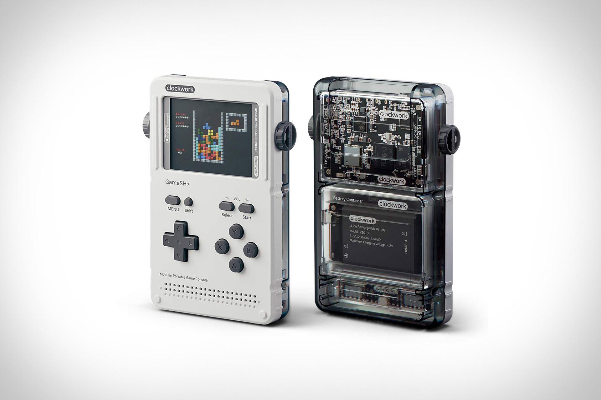 Clockwork Gameshell Portable Console