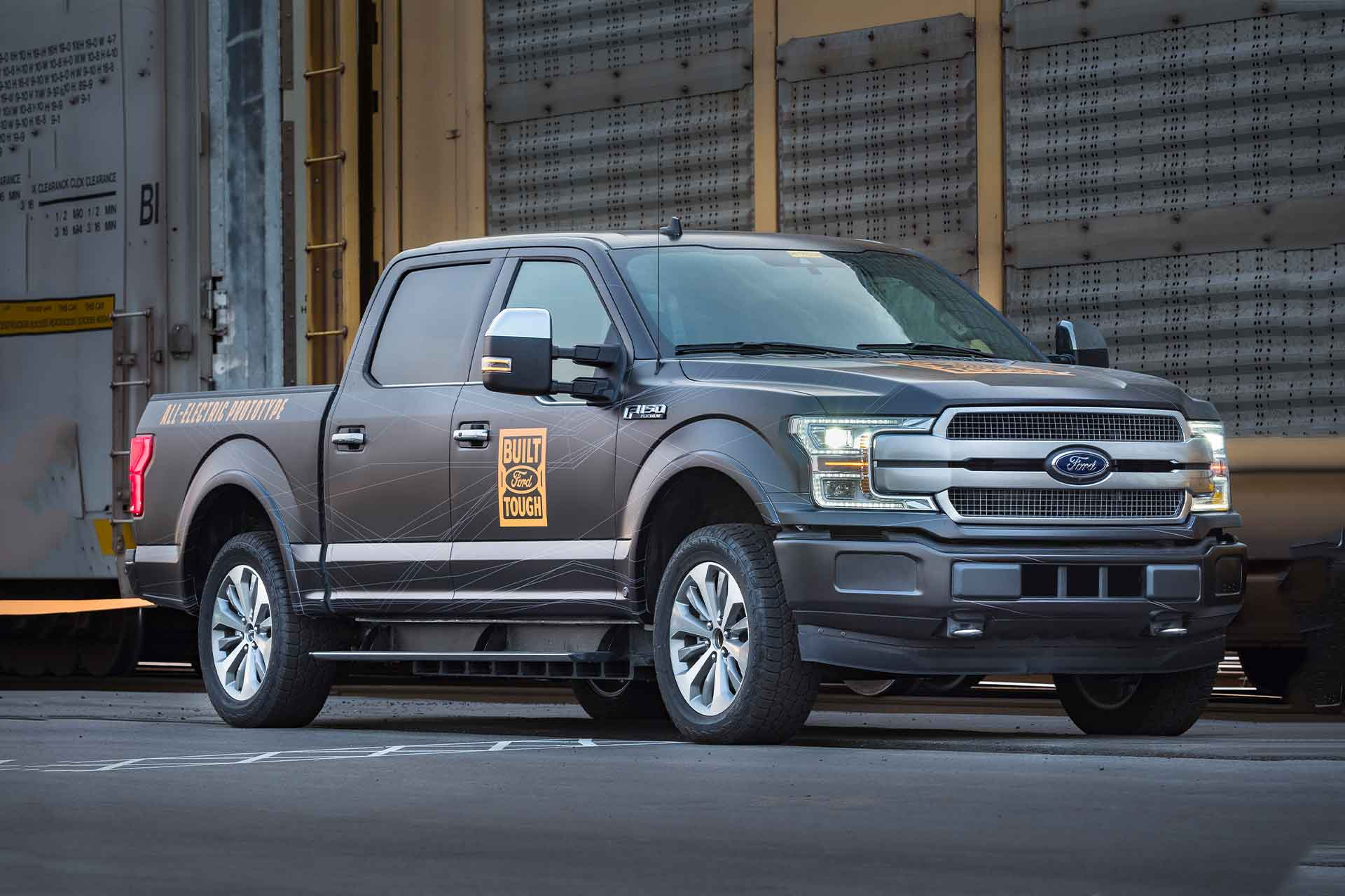 Ford All-Electric F150 Truck | Uncrate