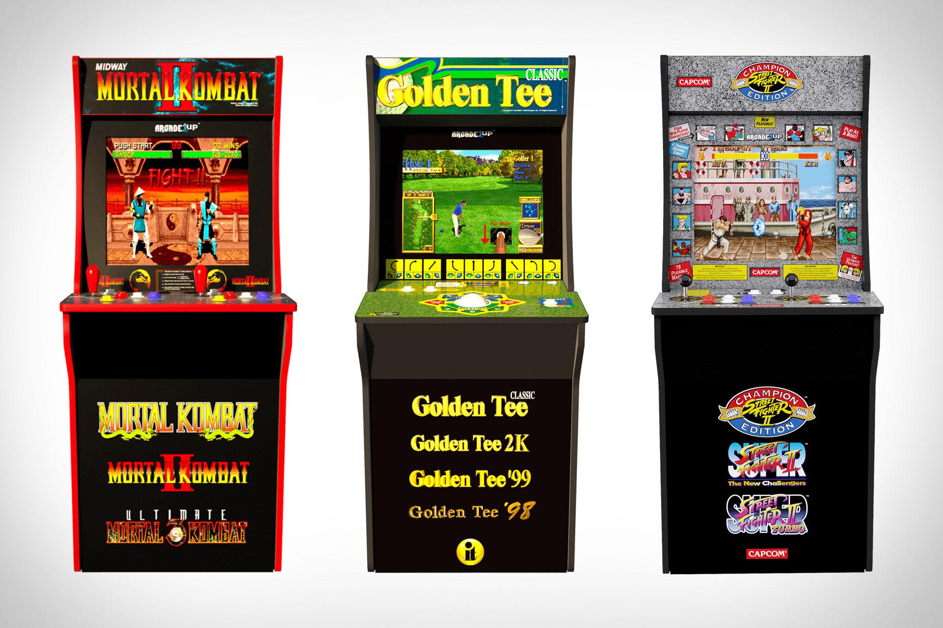 Arcade1Up Home Arcade Machines | Uncrate