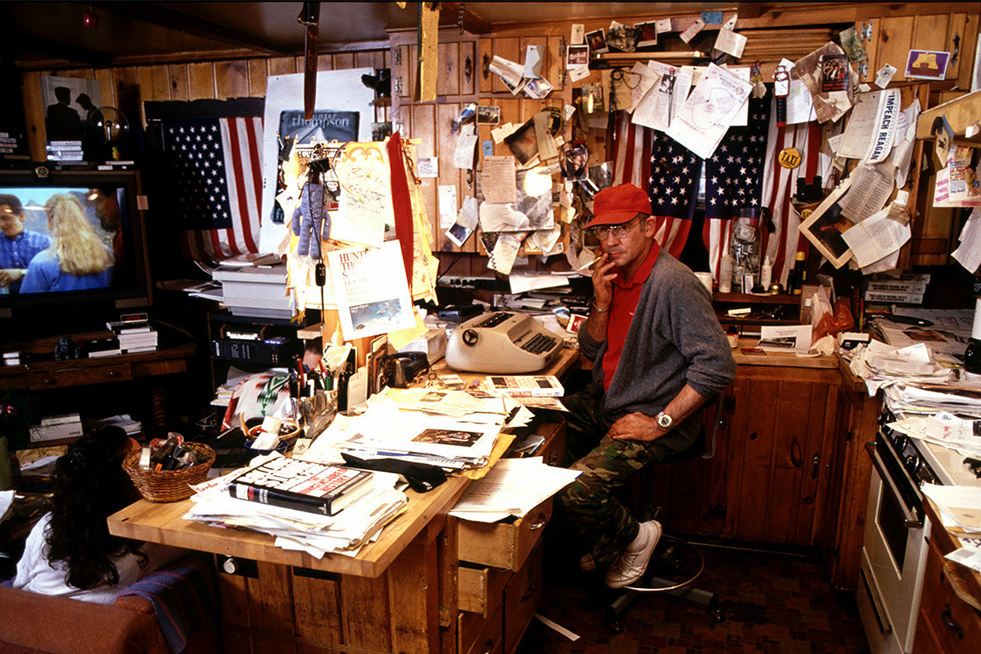 Hunter S Thompson S Writing Cabin Uncrate