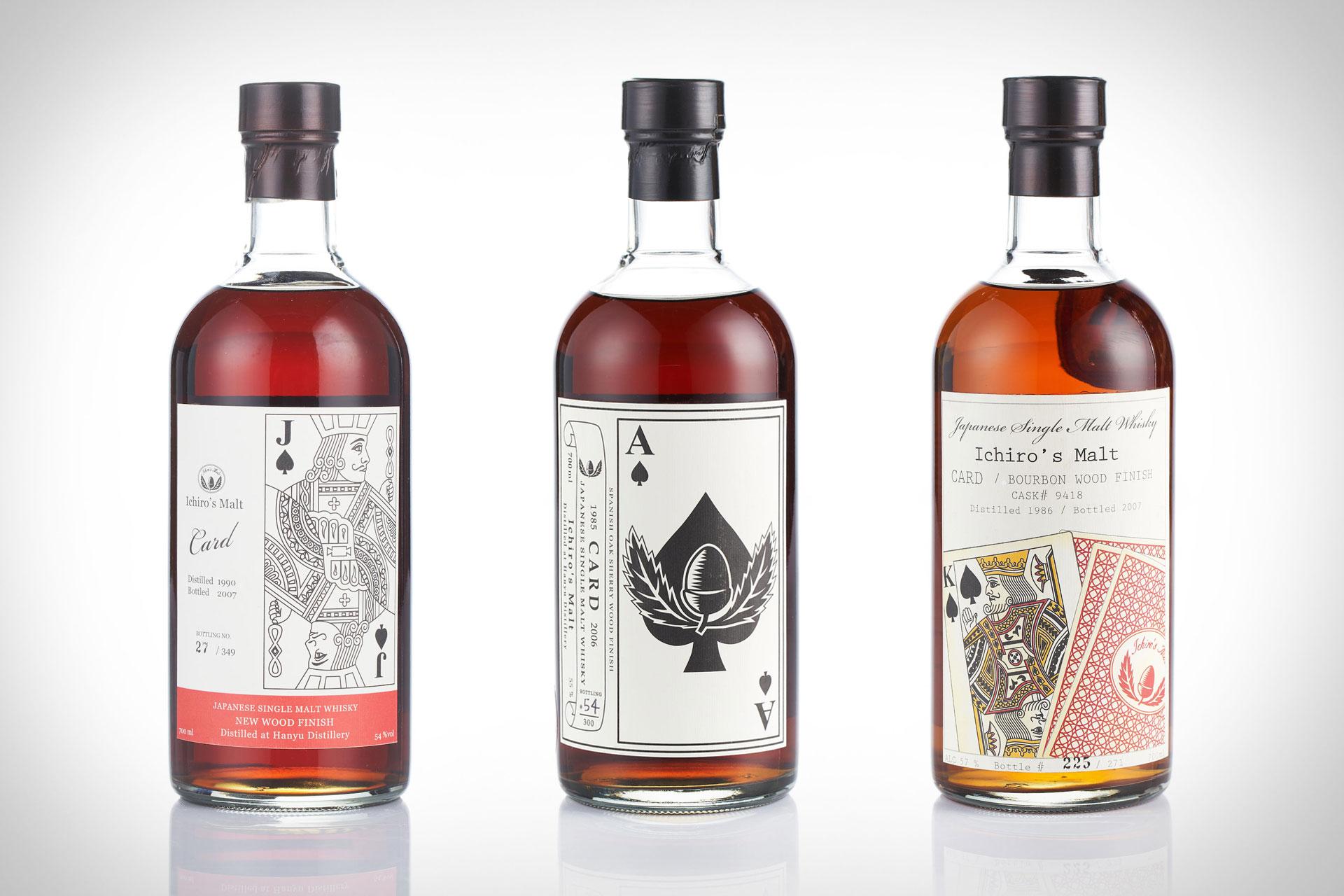 Hanyu Ichiro's Malt Full Cards Series Whisky