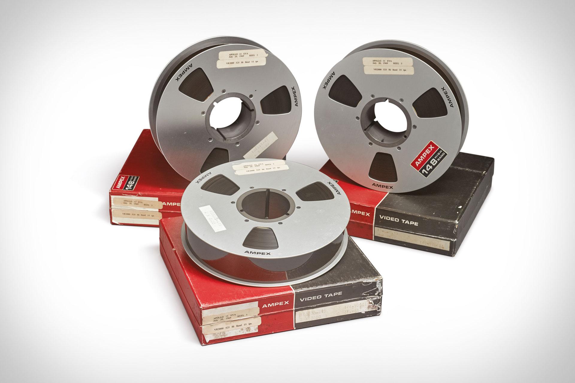 NASA Apollo 11 Lunar EVA Videotape Recordings