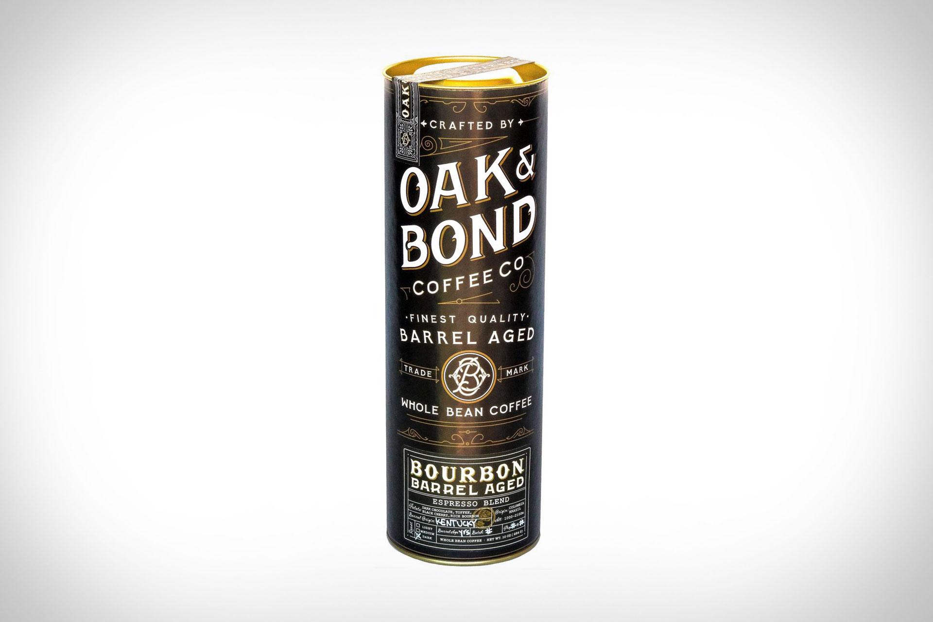 Oak & Bond Bourbon Barrel Aged Espresso Blend Coffee