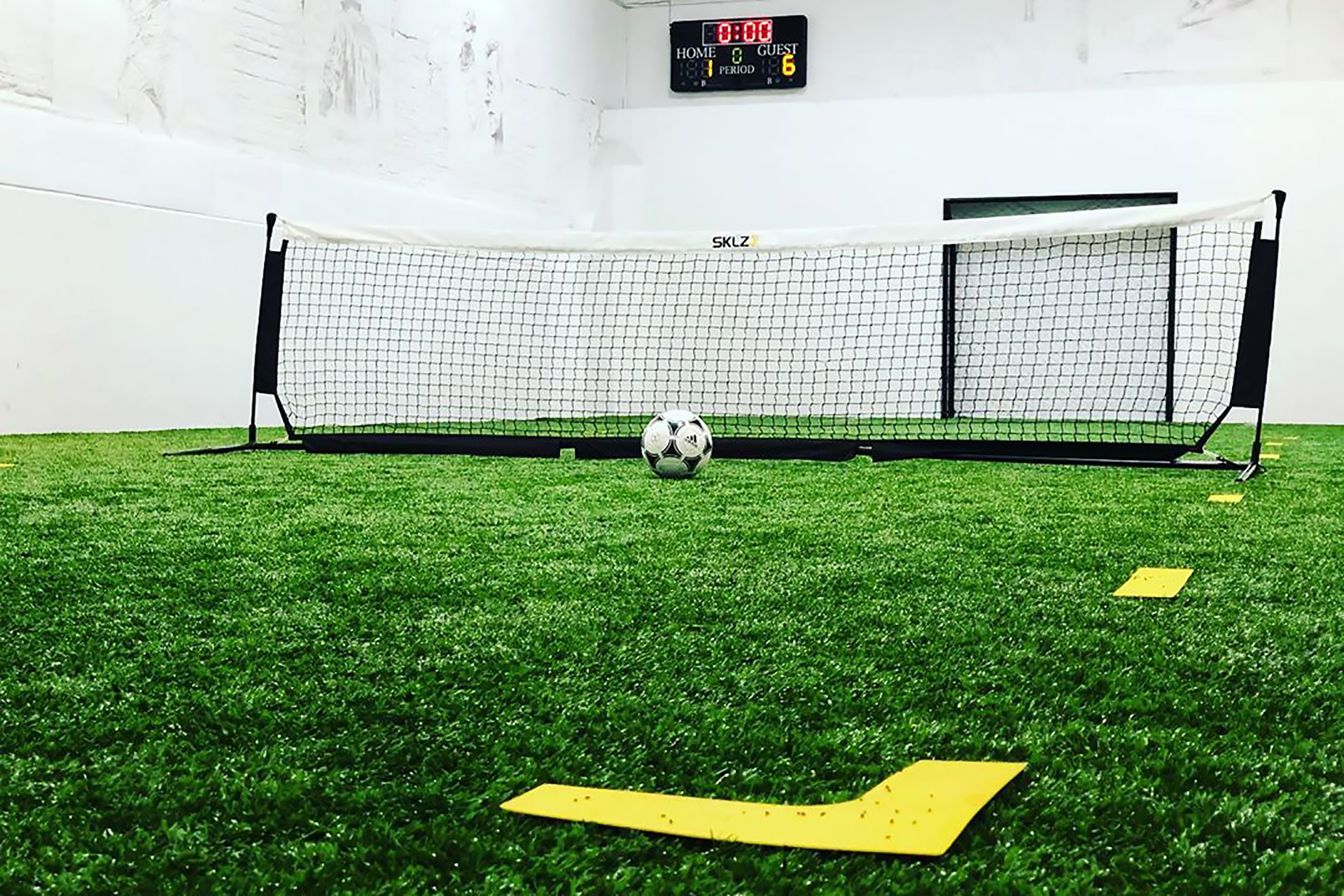 TheGround NYC Indoor Soccer Pitch