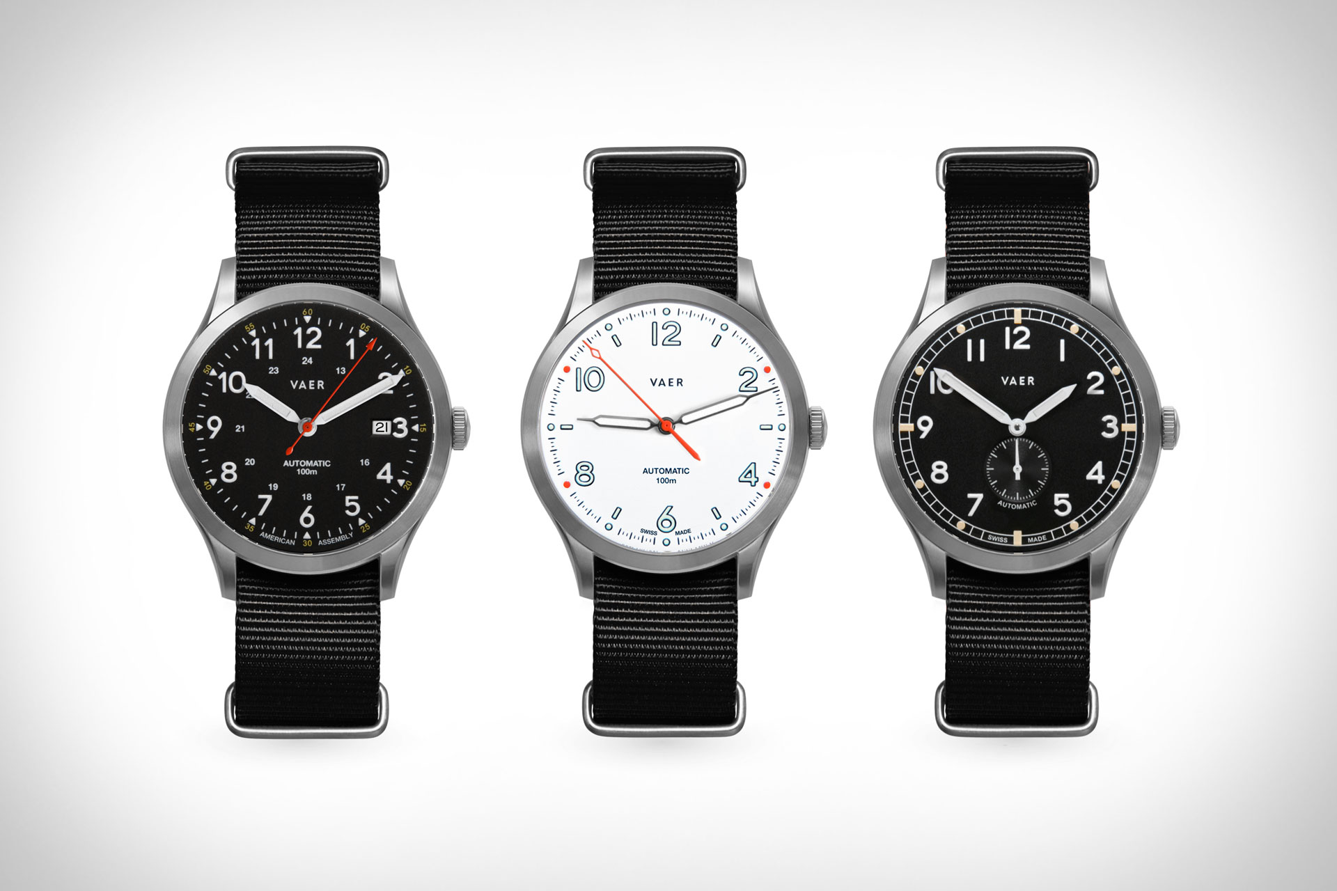 Vaer Automatic Watches