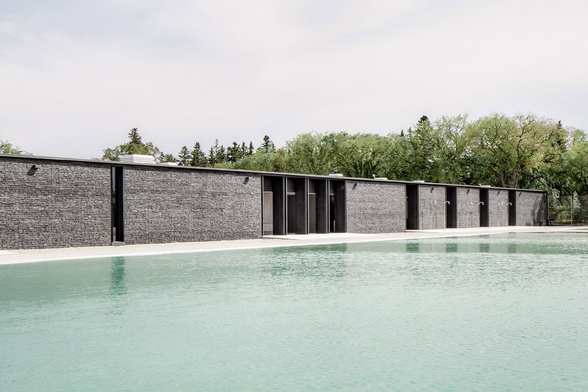 Borden Park Natural Swimming Pool