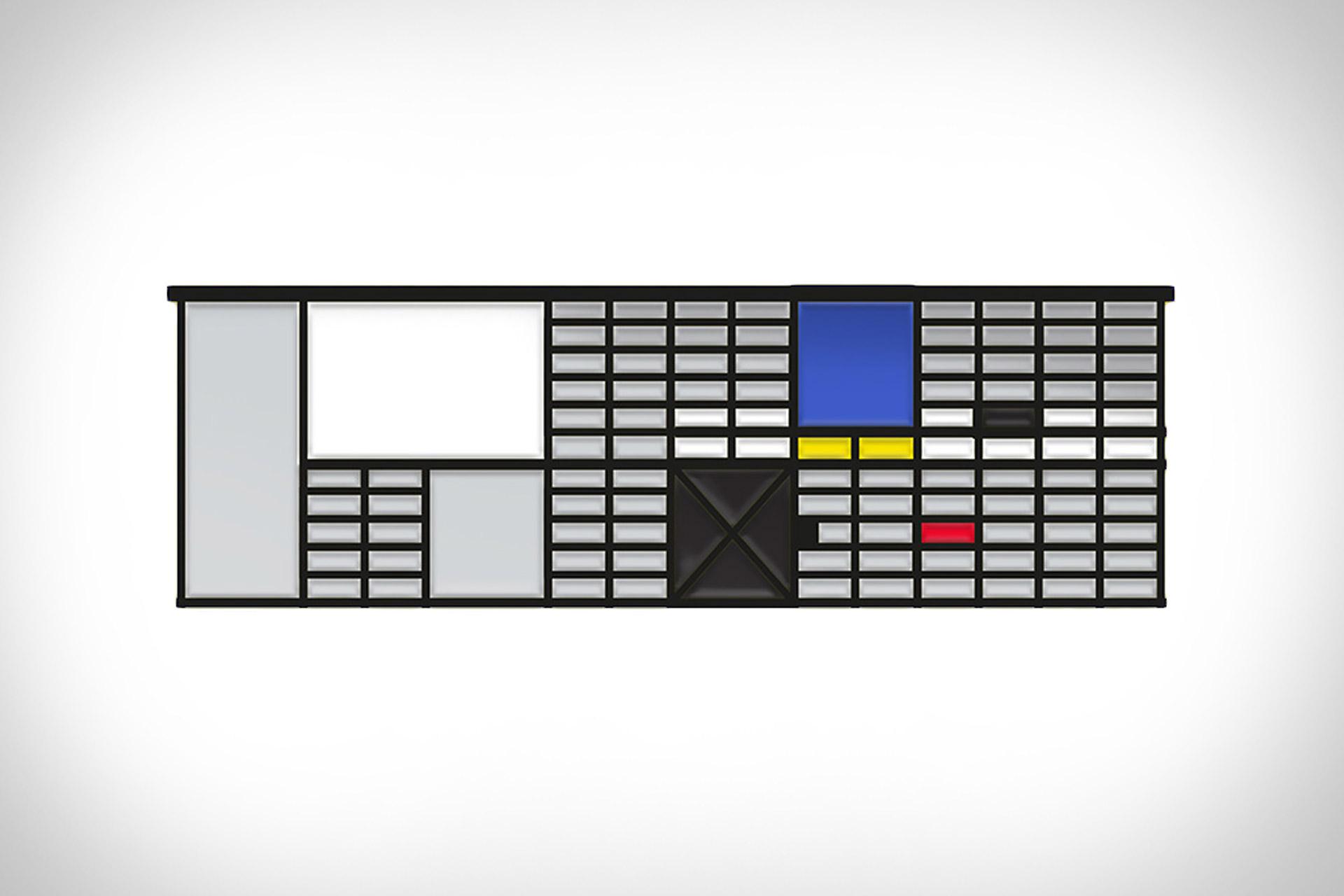 Drop-A-Pin Architectural Enamel Pins