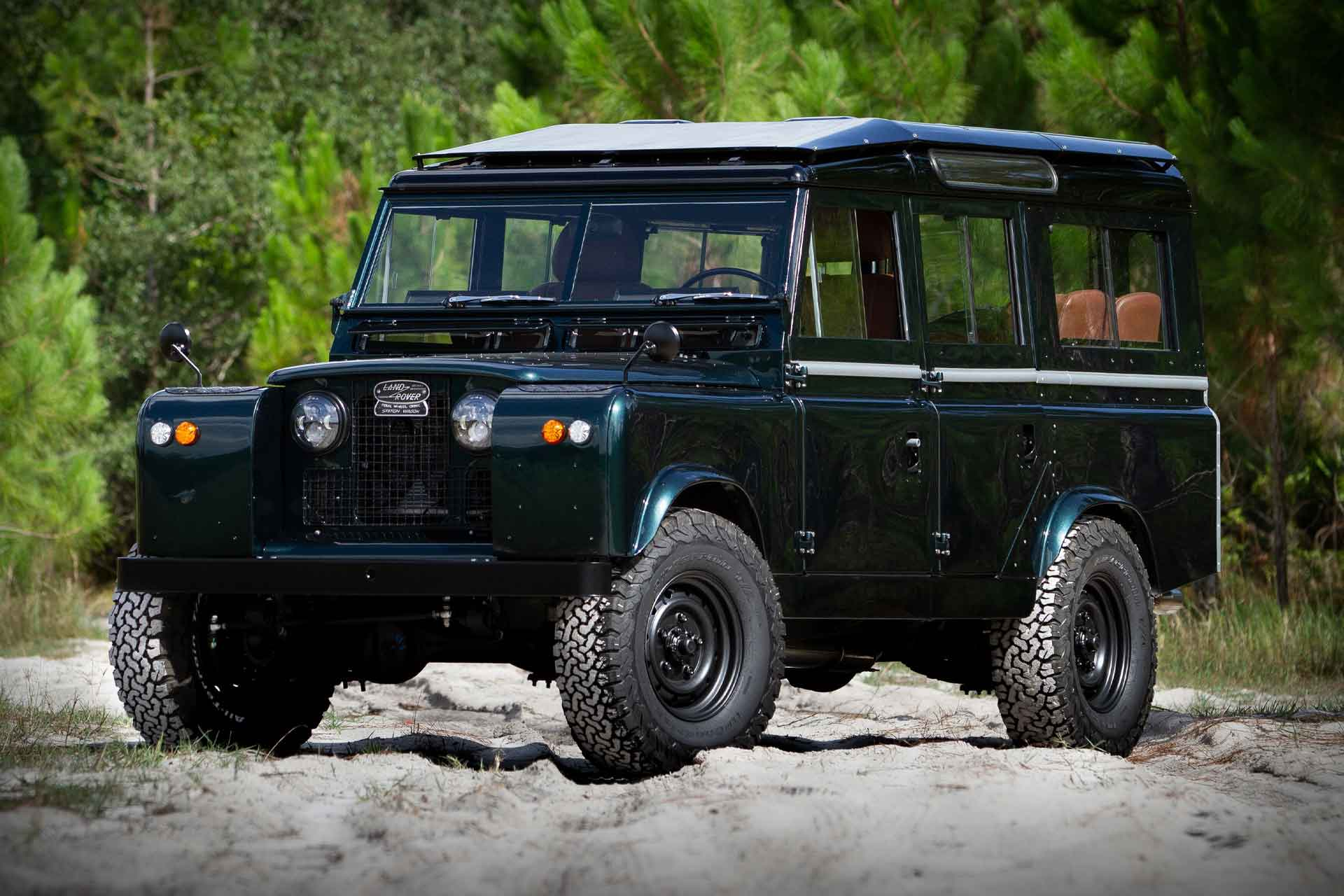 ECD Land Rover Series 2A SUV | Uncrate
