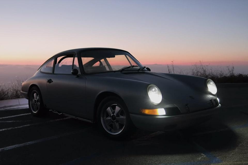 Tesla-Powered Porsche 912