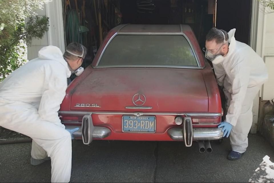 Detailing A 1969 Mercedes 280 SL