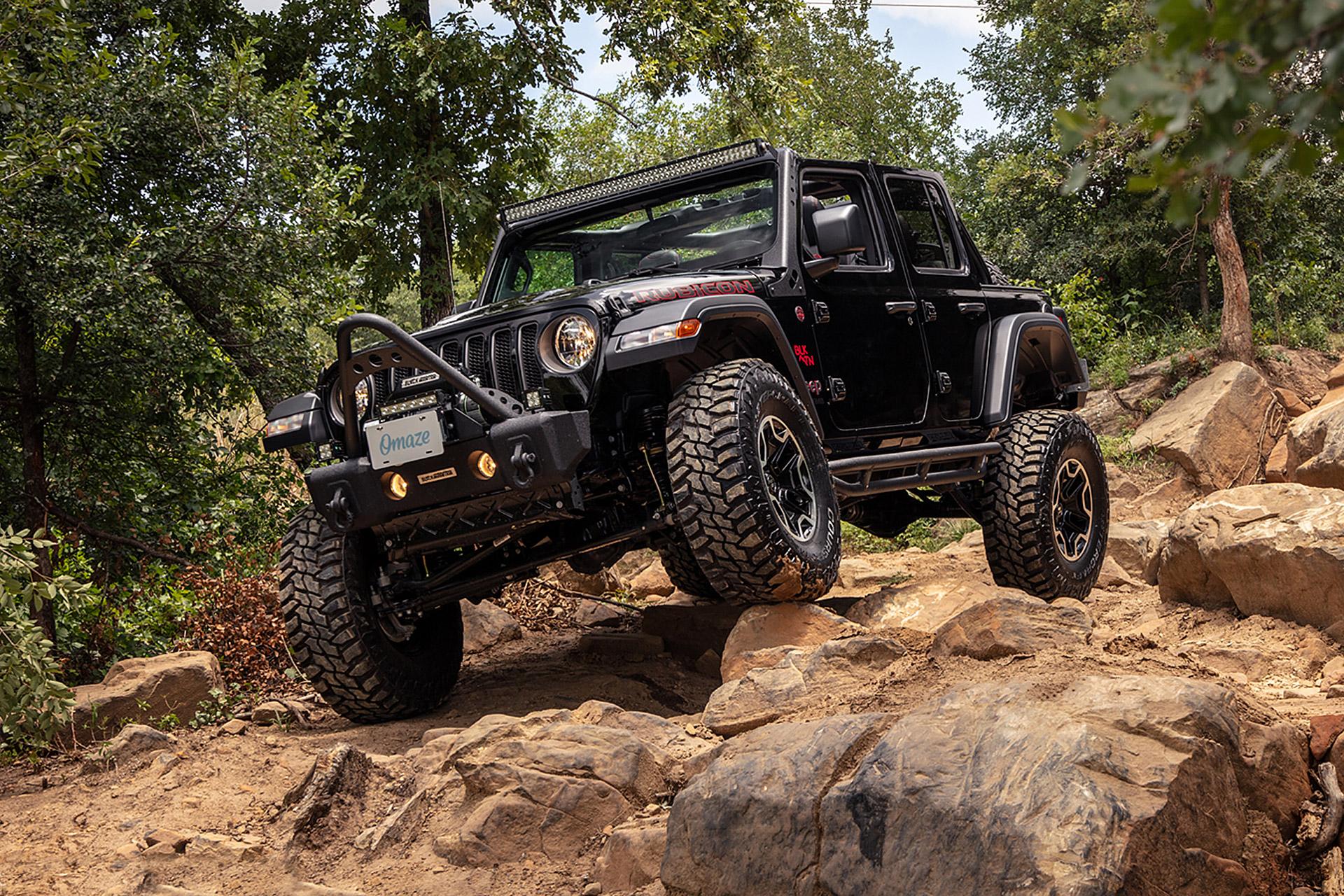Omaze 2019 Jeep Wrangler Unlimited Rubicon