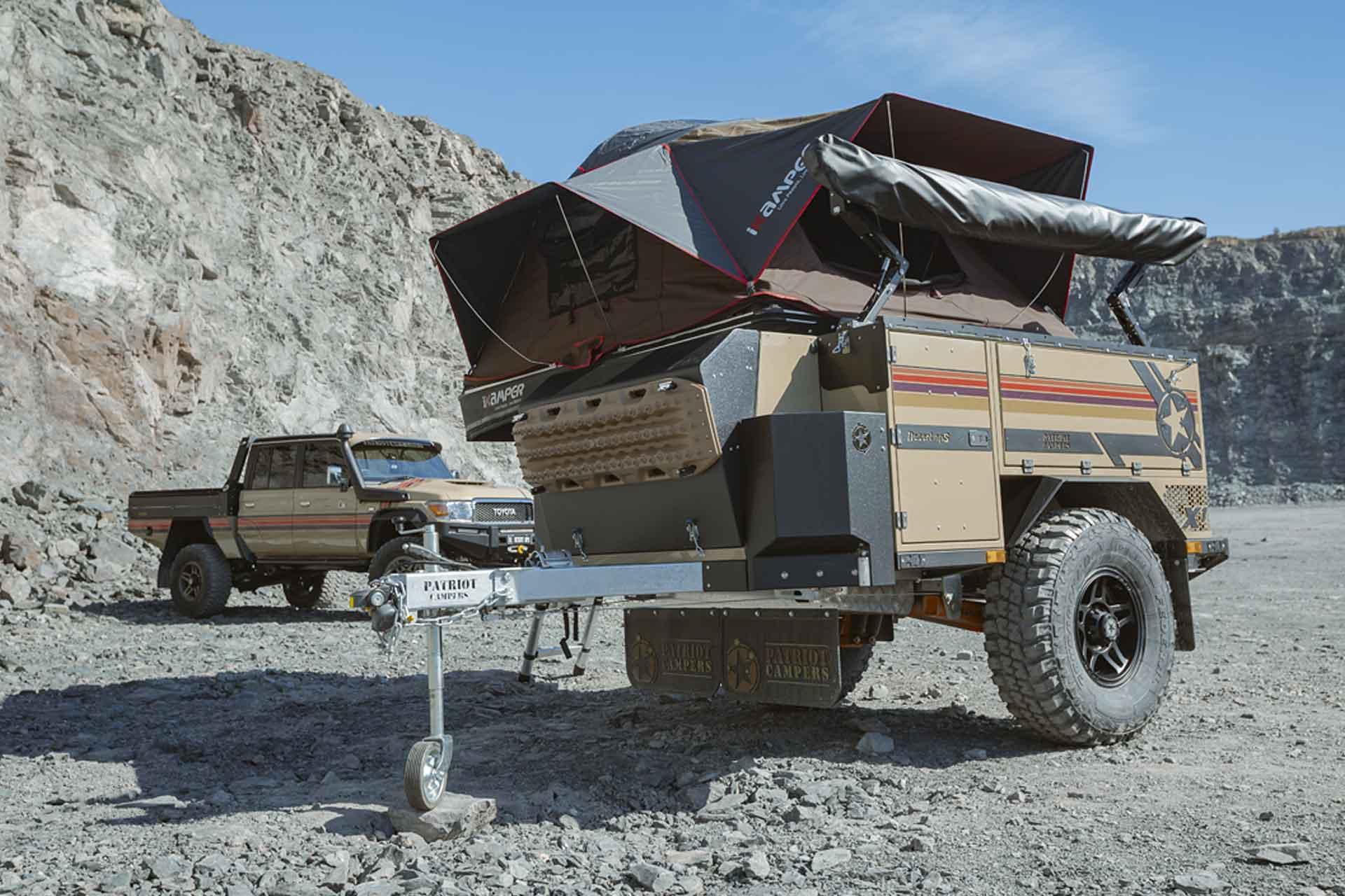 Patriot Campers Desert Ops X1-N & LC79 Supertourer