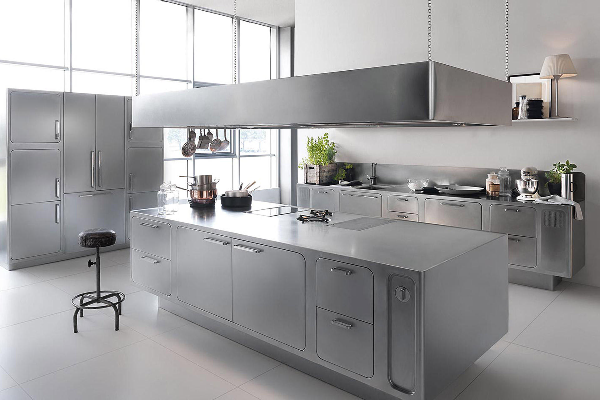 Abimis Bespoke Stainless Steel Kitchens