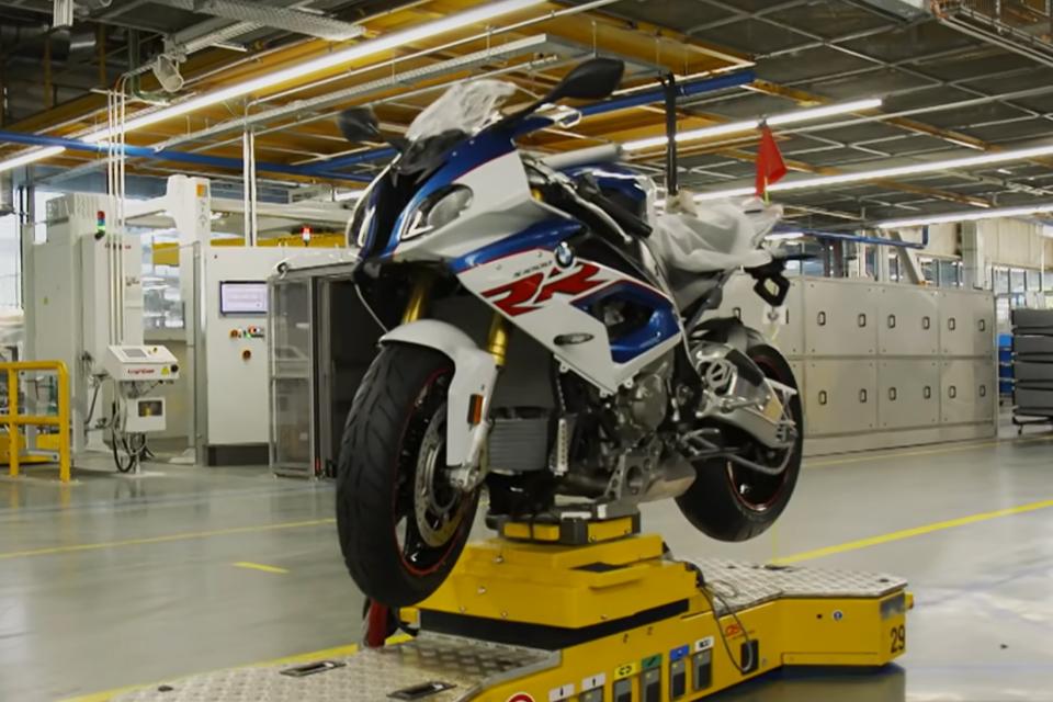 BMW Motorrad's Berlin Factory