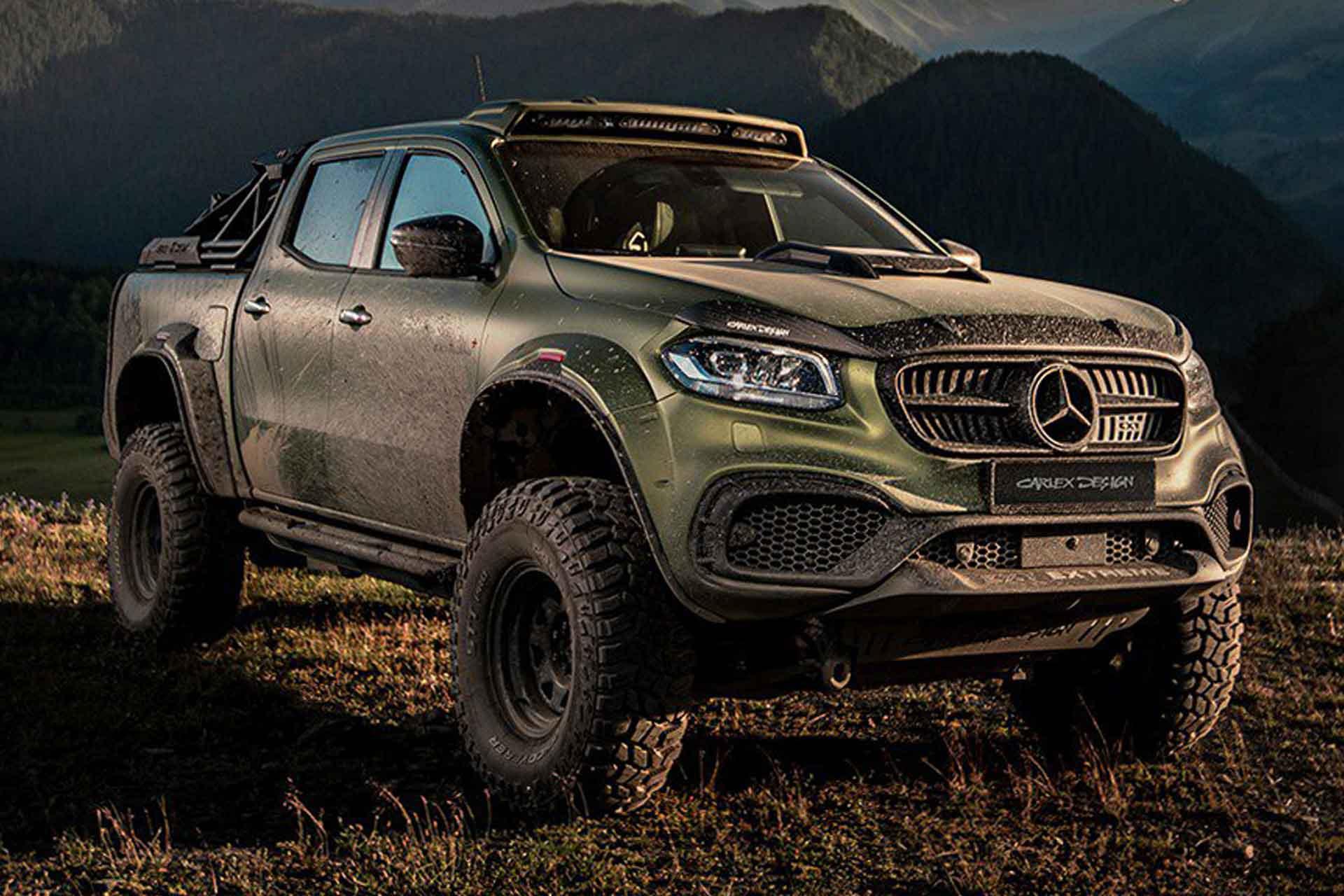 Carlex Design Exy Extreme Mercedes Truck