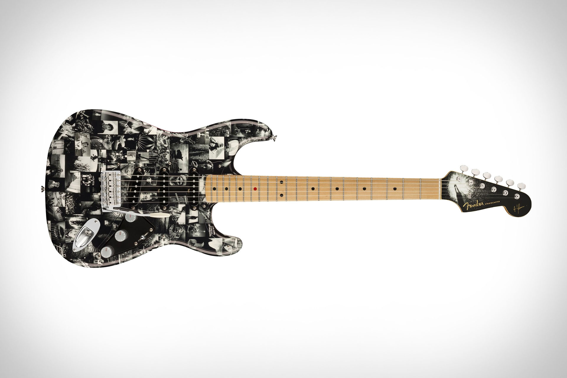 Fender x Leica Andy Summers Monochrome