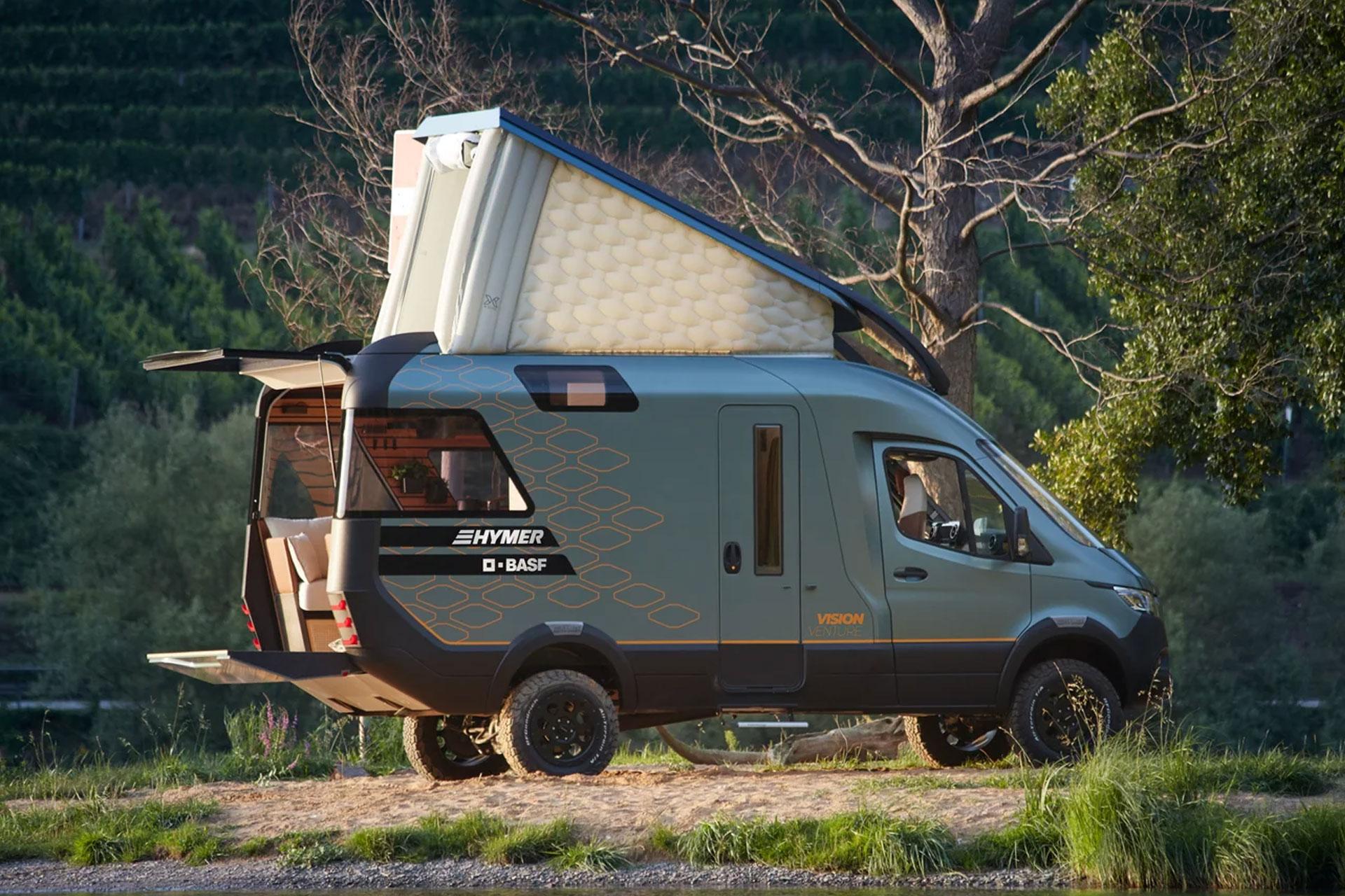 Hymer VisionVenture Camper Van Concept