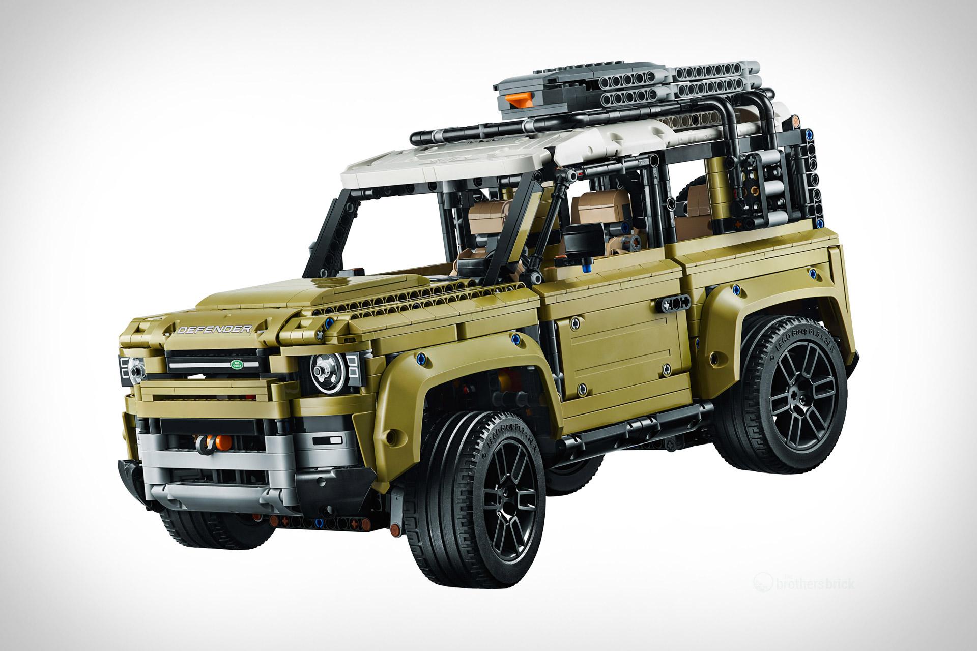 Lego Land Rover Defender Model