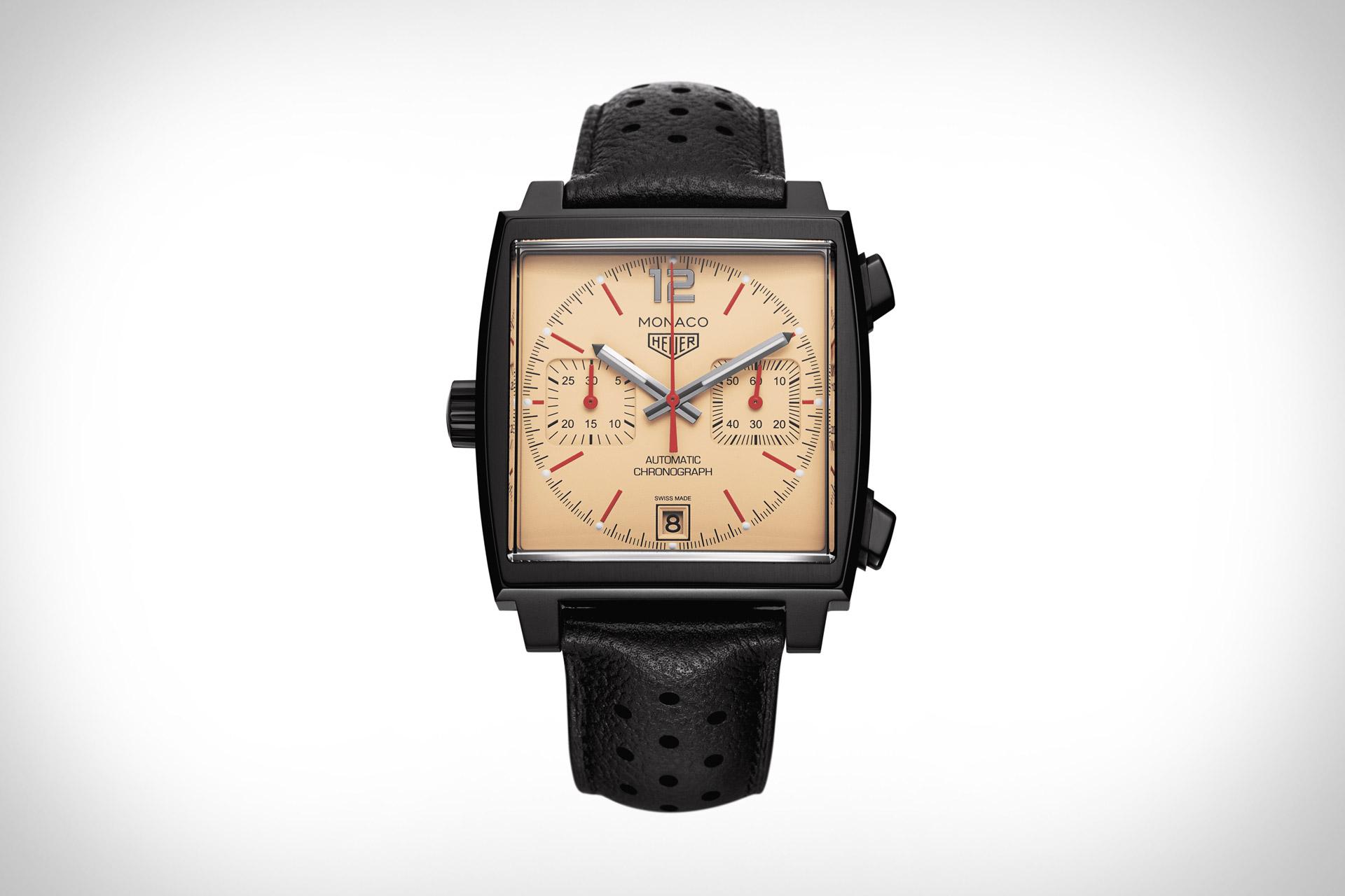 Tag Heuer x The Hour Glass Monaco Watch