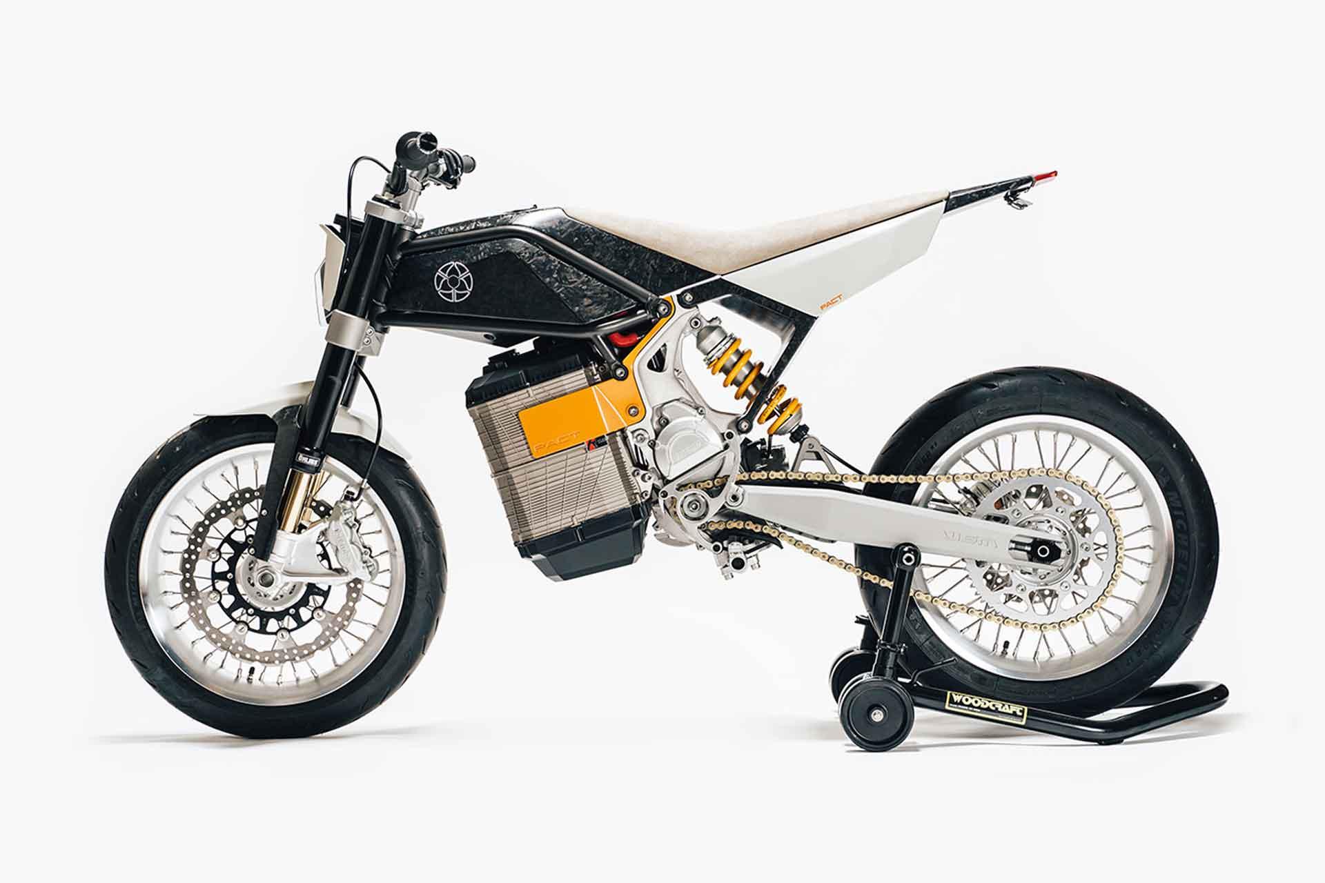 Walt Siegl Alta Redshift PACT Motorcycle