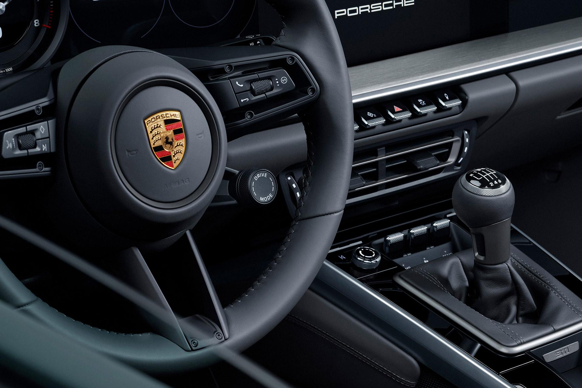 2020 Porsche 911 Manual Transmission