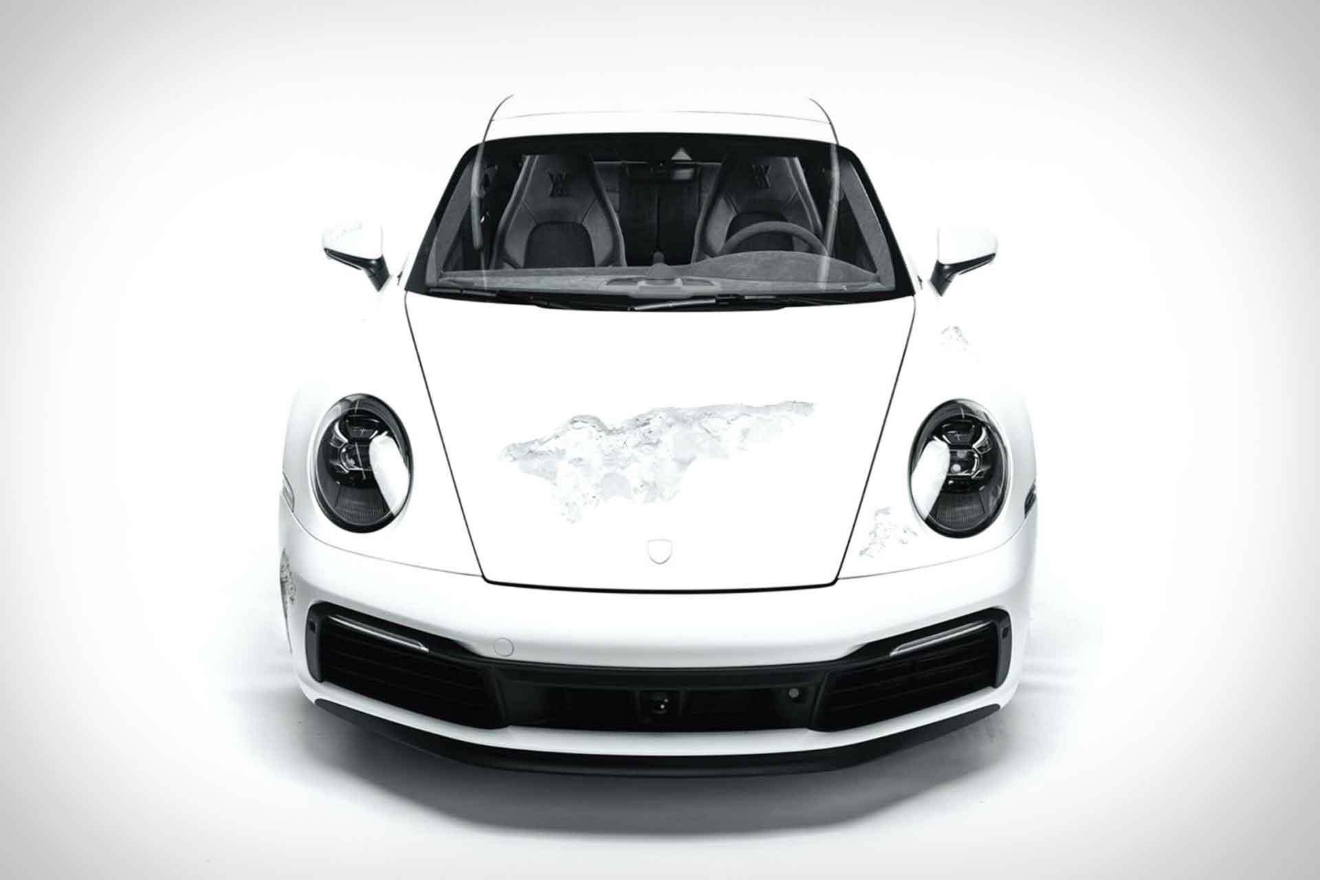 Daniel Arsham x Selfridges Eroded Porsche 911 Coupe