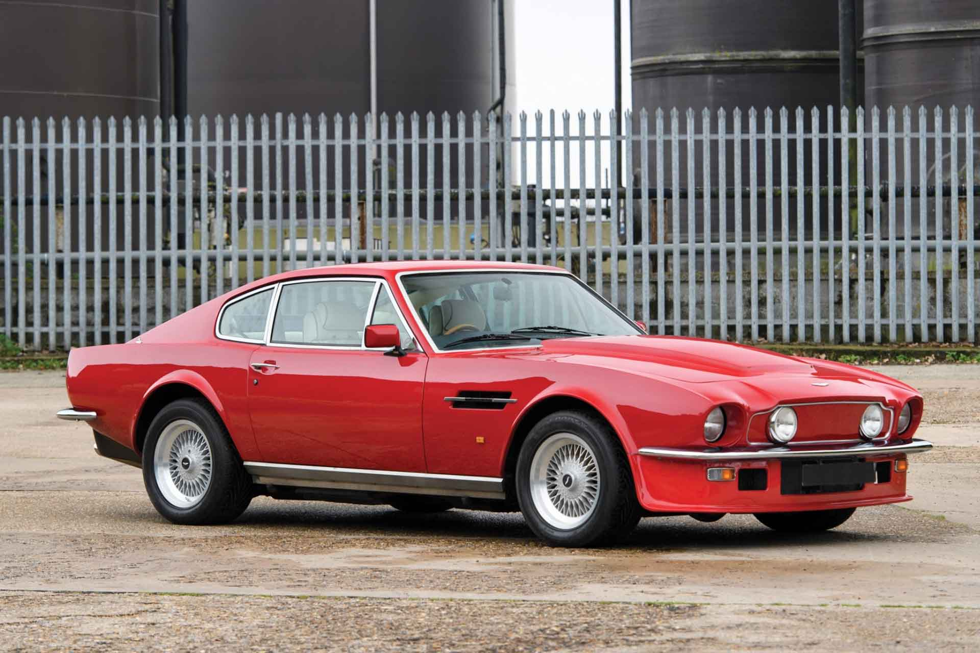 1988 Aston Martin V8 Vantage X Pack Uncrate