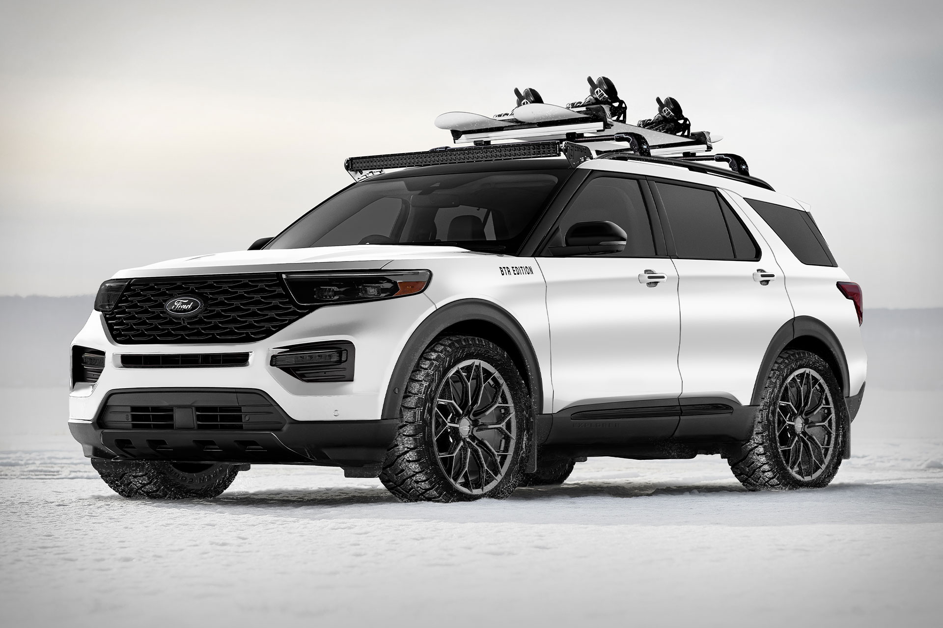 2020 Ford X Blood Type Racing Explorer Suv Uncrate