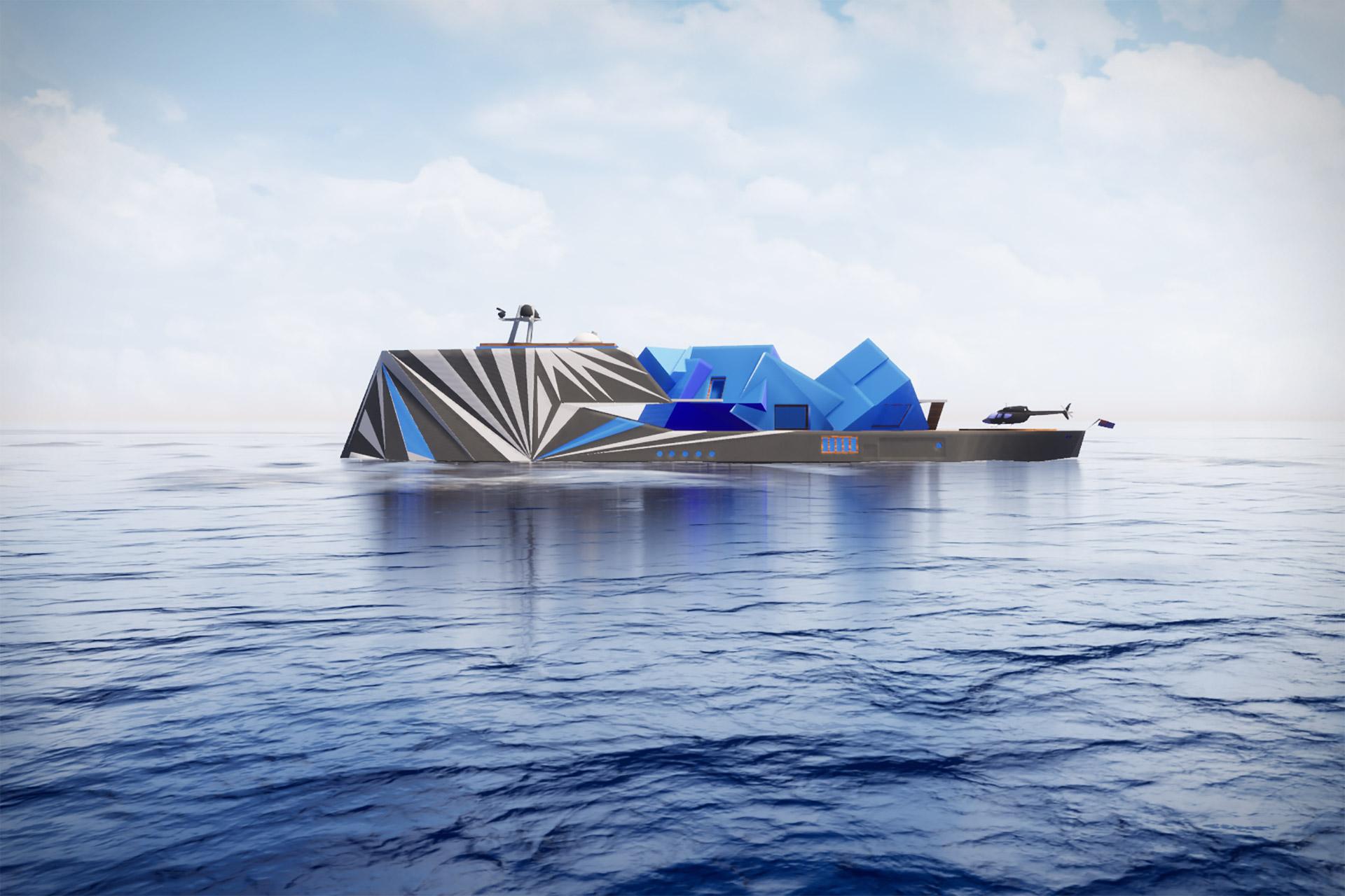 Fata Morgana Explorer Yacht Concept